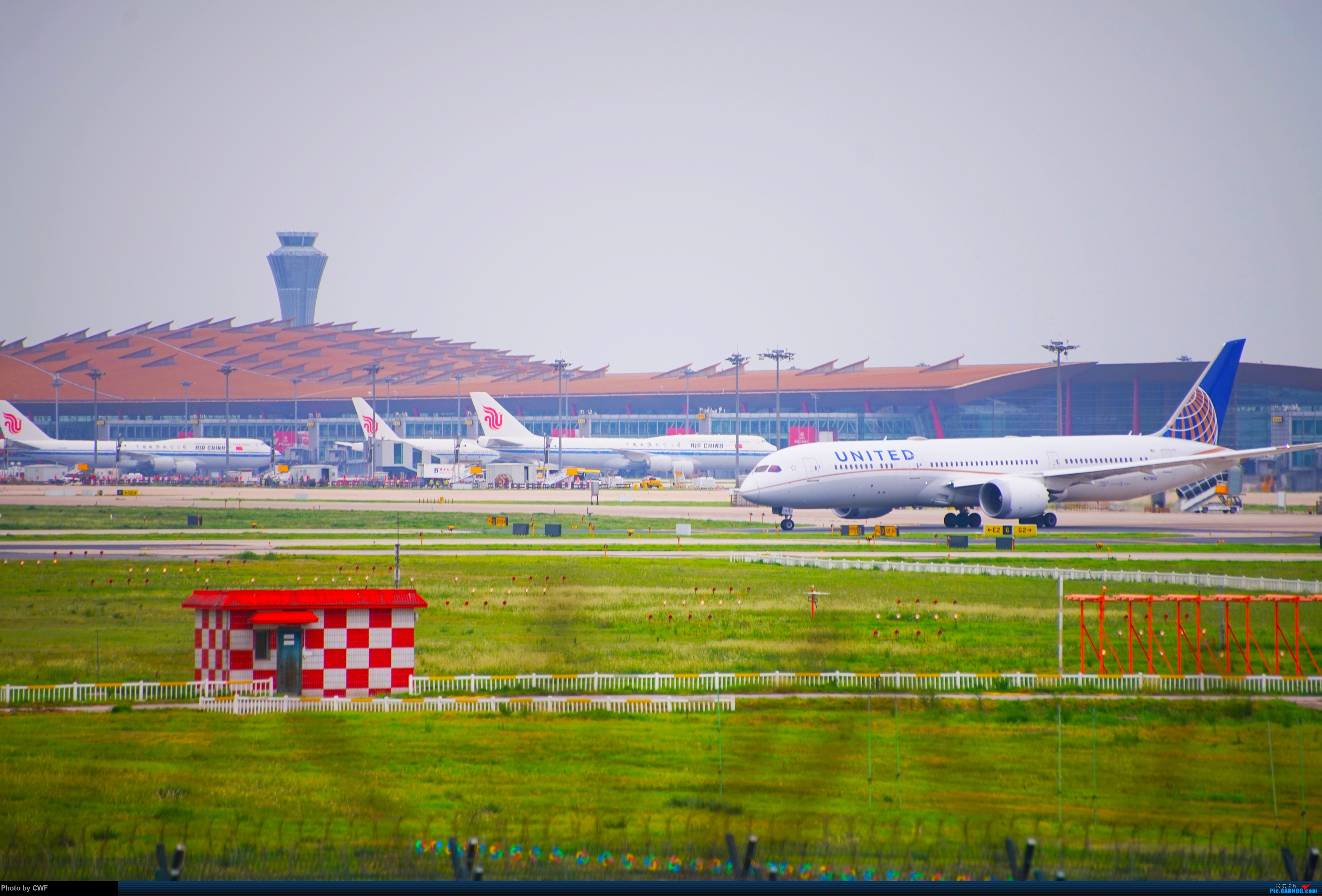 [原创]PEK 拍机 BOEING 787-9 N27964 中国北京首都国际机场