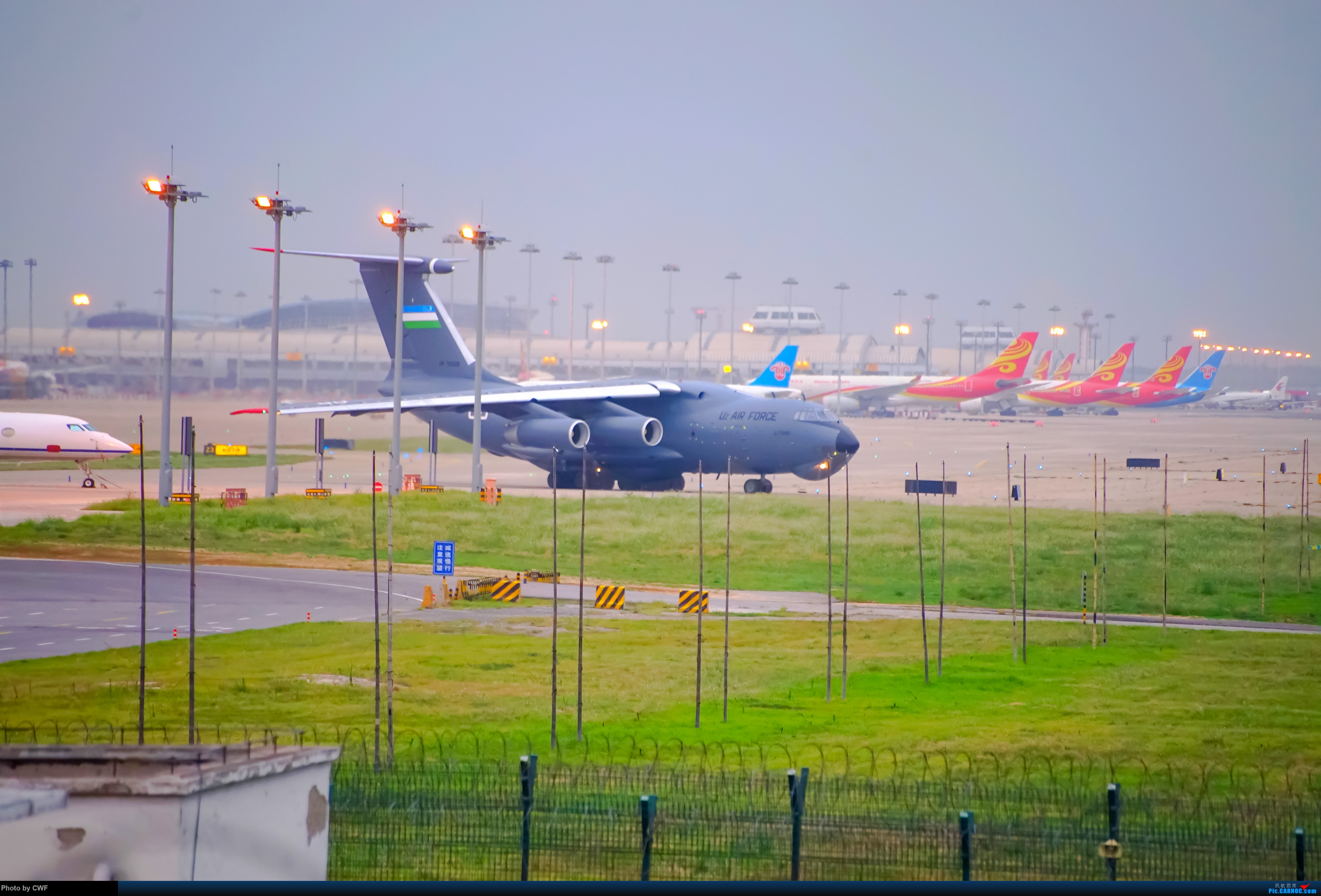 Re:[原创]PEK 拍机 ILYUSHIN IL-76-MD UK76008 中国北京首都国际机场
