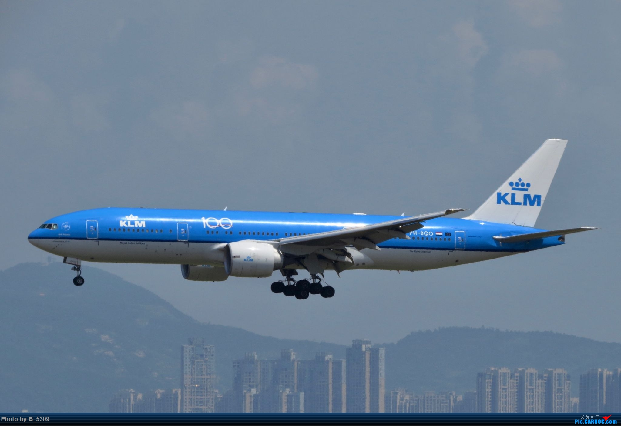 Re:[原创]逮KLM的大中午… BOEING 777-200 PH-BQO 中国厦门高崎国际机场
