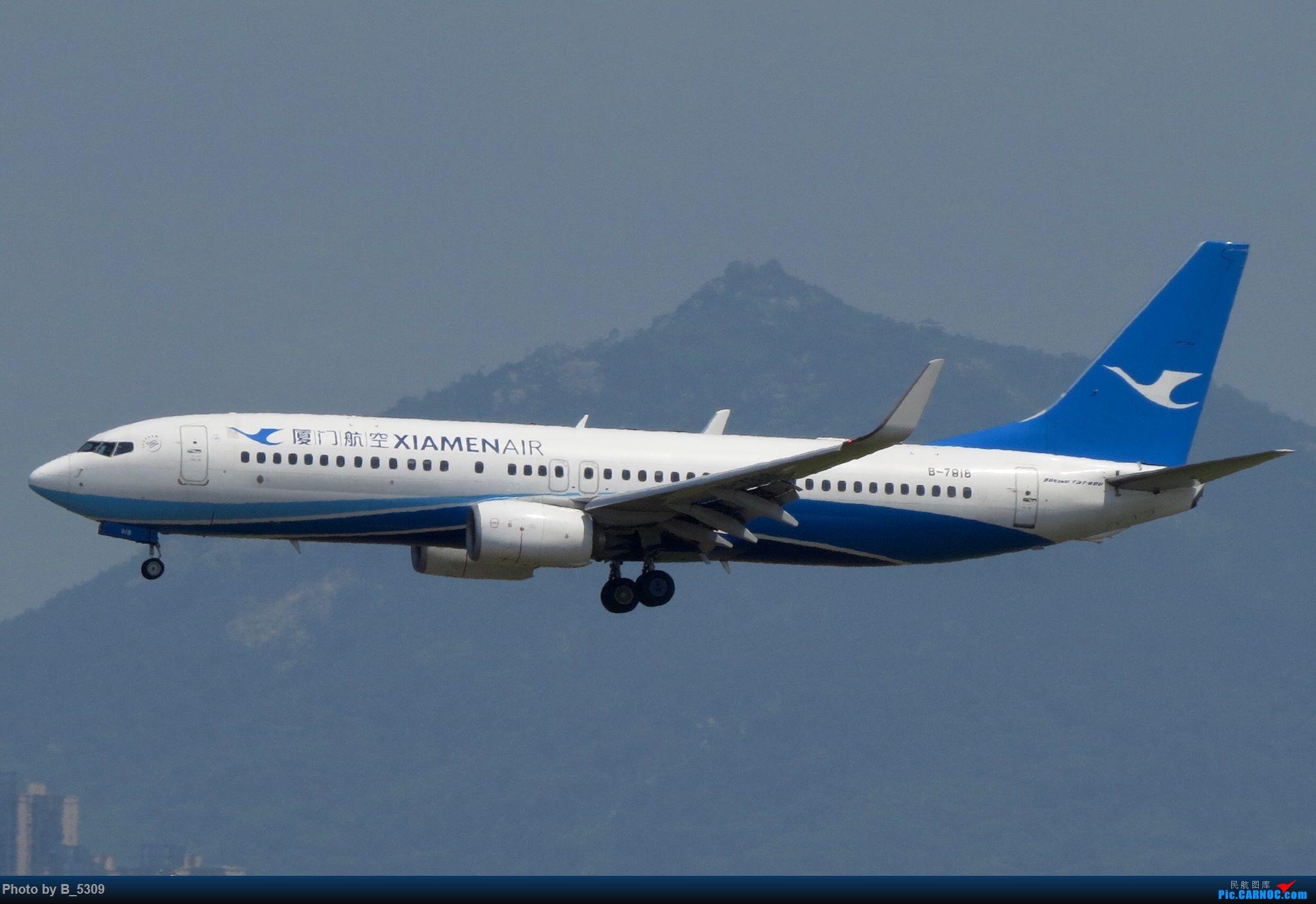Re:[原创]逮KLM的大中午… BOEING 737-800 B-7818 中国厦门高崎国际机场