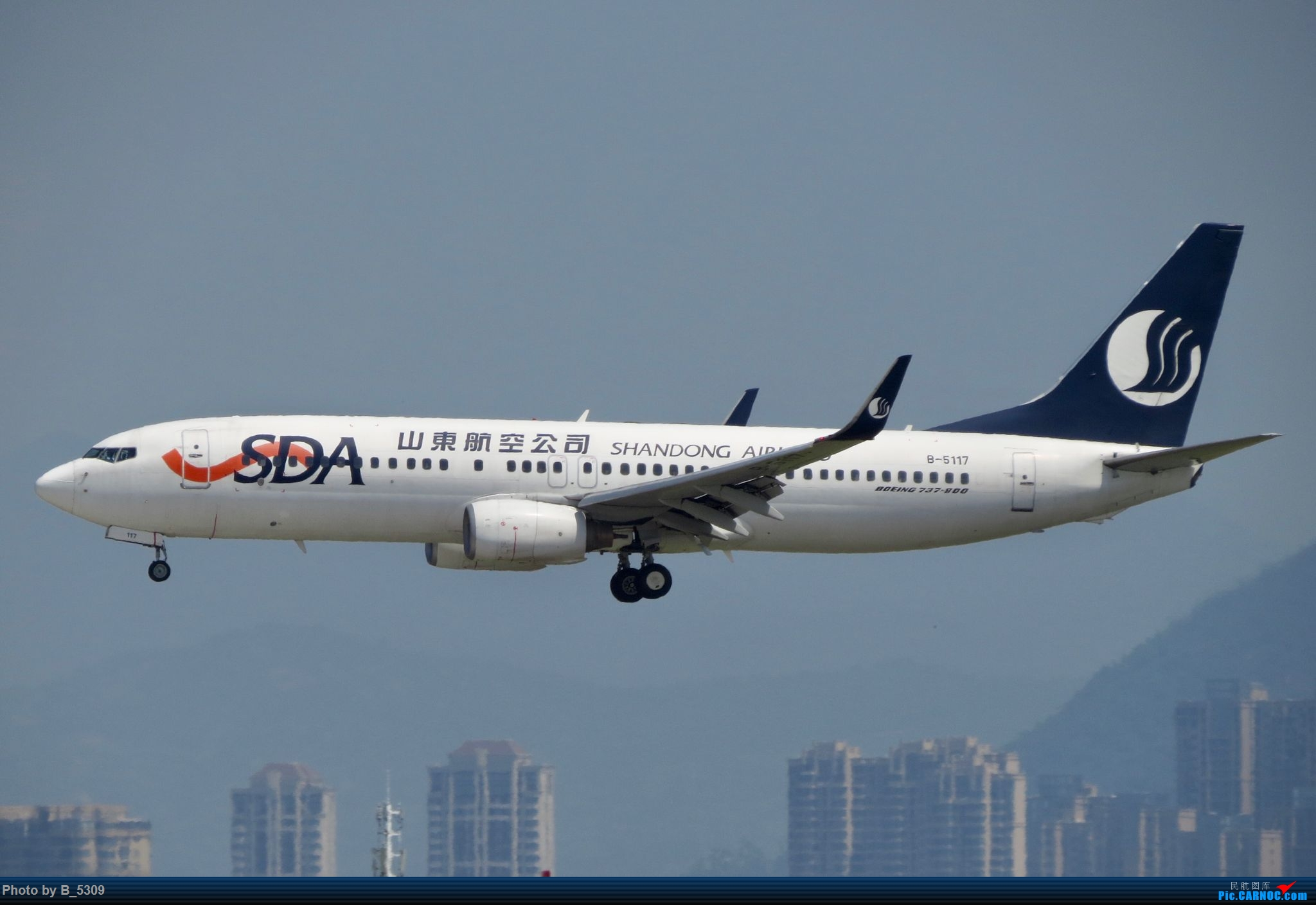 Re:[原创]逮KLM的大中午… BOEING 737-800 B-5117 中国厦门高崎国际机场