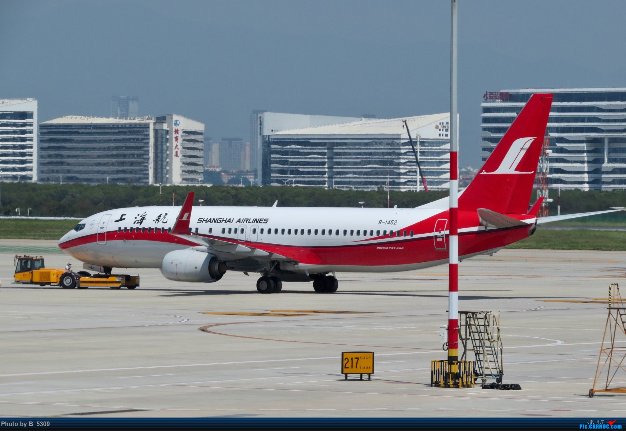 Re:[原创]逮KLM的大中午… BOEING 737-800 B-1452 中国厦门高崎国际机场