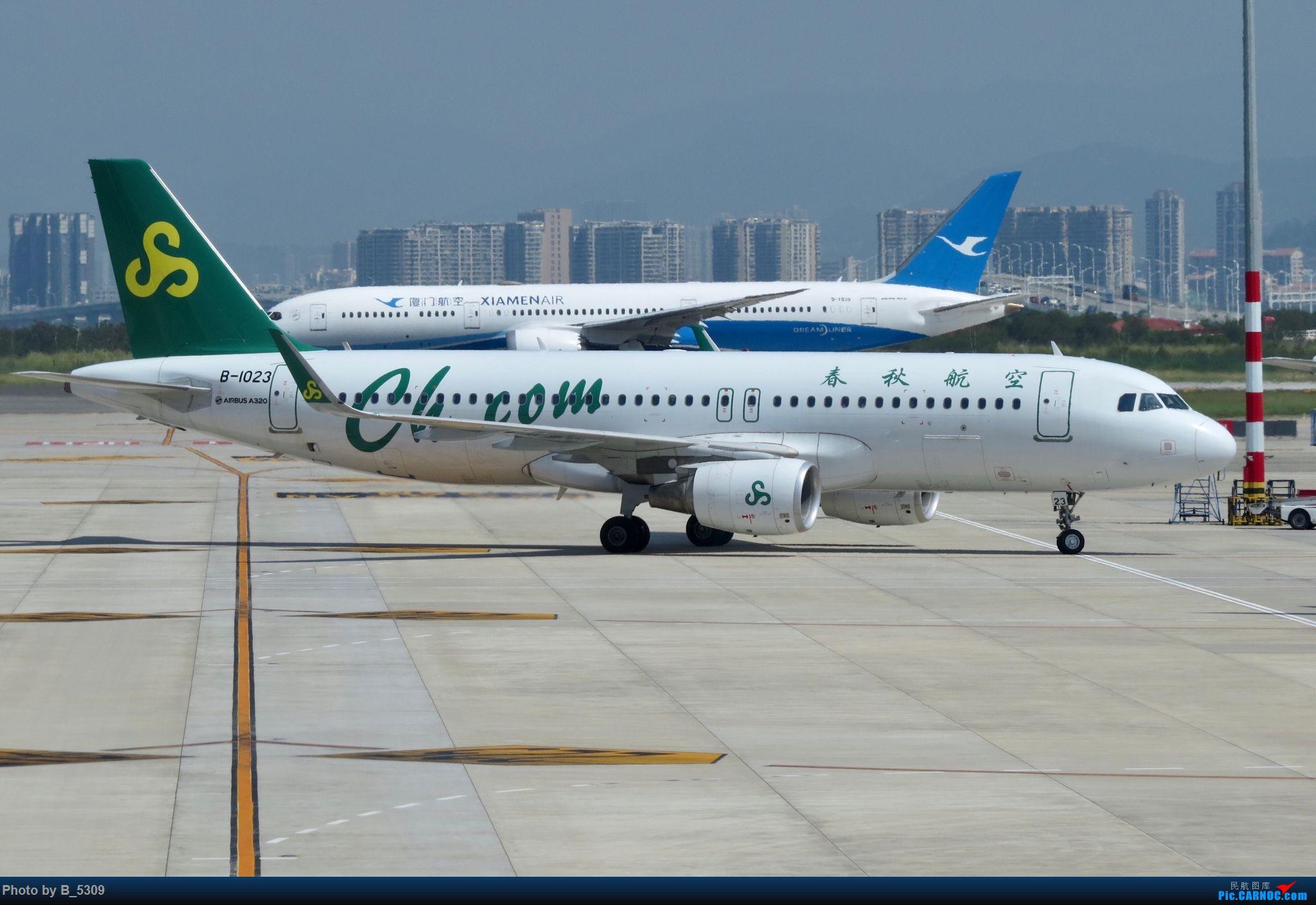 Re:[原创]逮KLM的大中午… AIRBUS A320-200 B-1023 中国厦门高崎国际机场