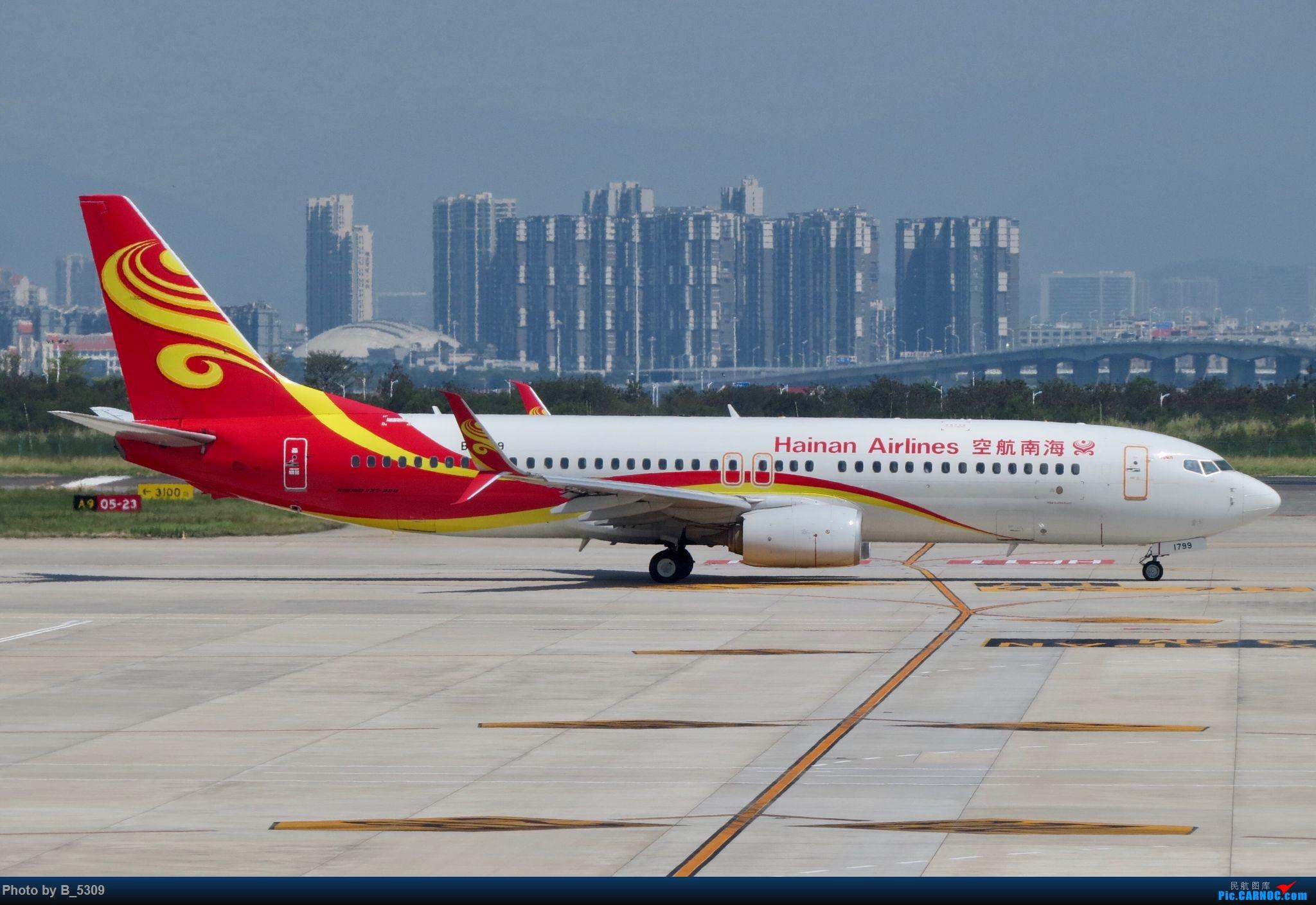 Re:[原创]逮KLM的大中午… BOEING 737-800 B-1799 中国厦门高崎国际机场