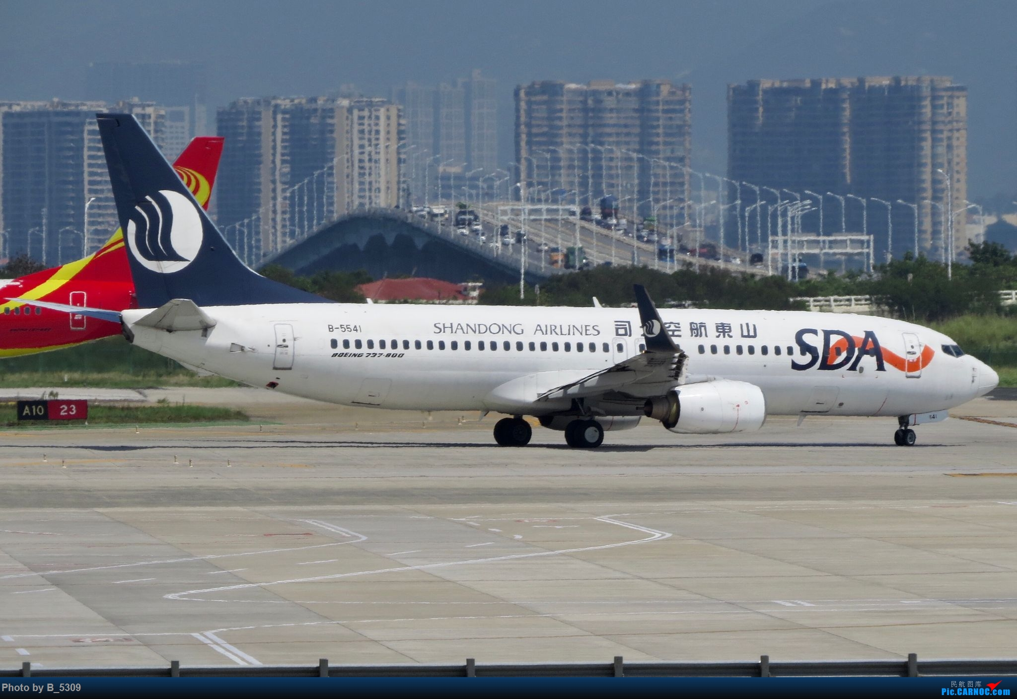 Re:[原创]逮KLM的大中午… BOEING 737-800 B-5541 中国厦门高崎国际机场