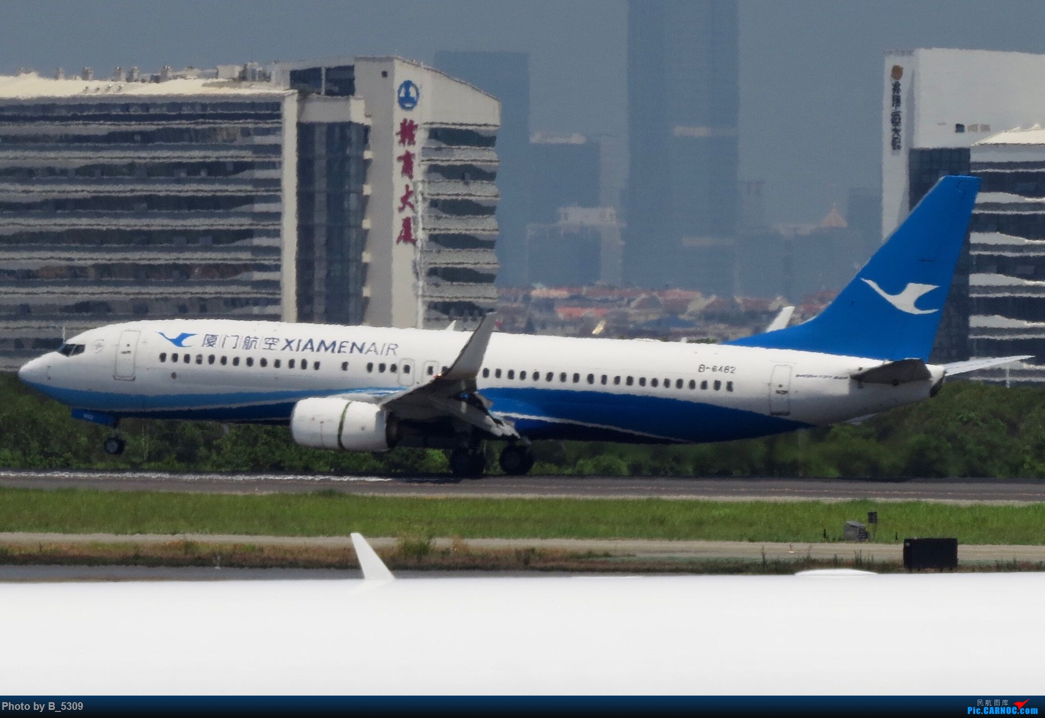 Re:[原创]逮KLM的大中午… BOEING 737-800 B-6482 中国厦门高崎国际机场