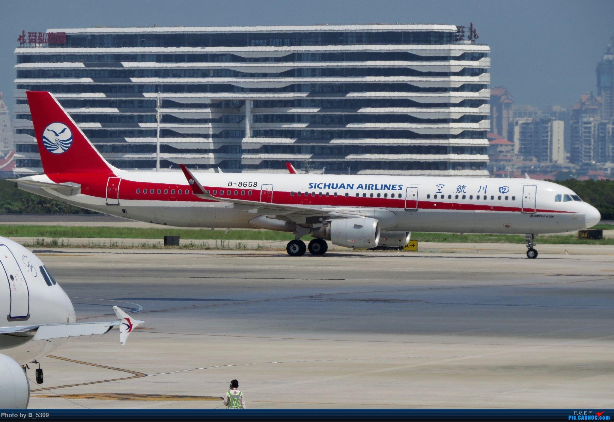 Re:[原创]逮KLM的大中午… AIRBUS A321-200 B-8658 中国厦门高崎国际机场