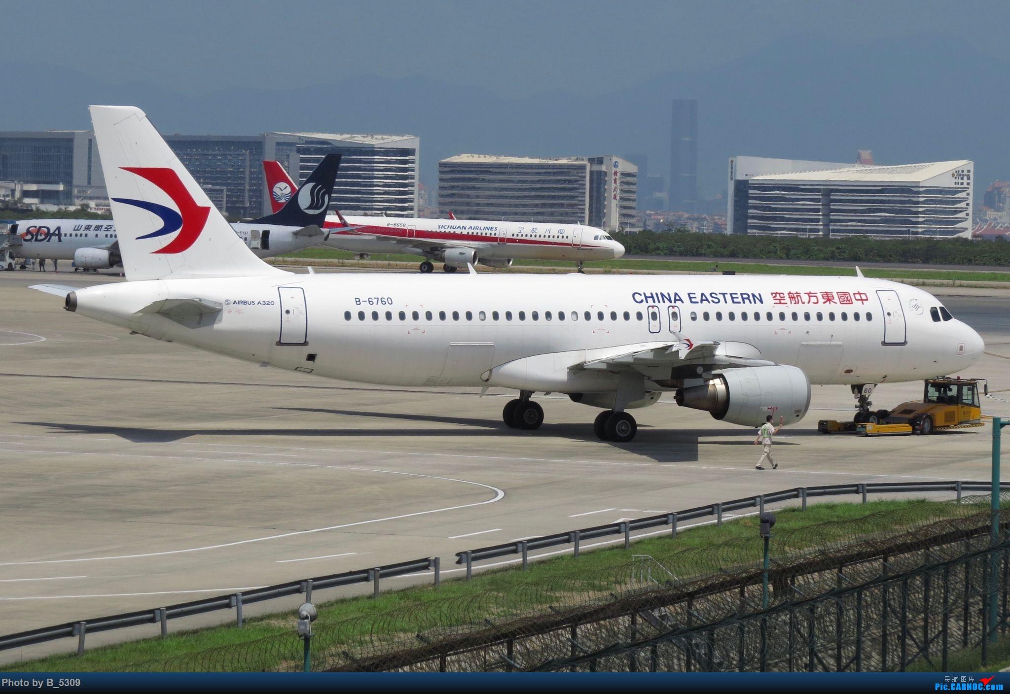Re:[原创]逮KLM的大中午… AIRBUS A320-200 B-6760 中国厦门高崎国际机场