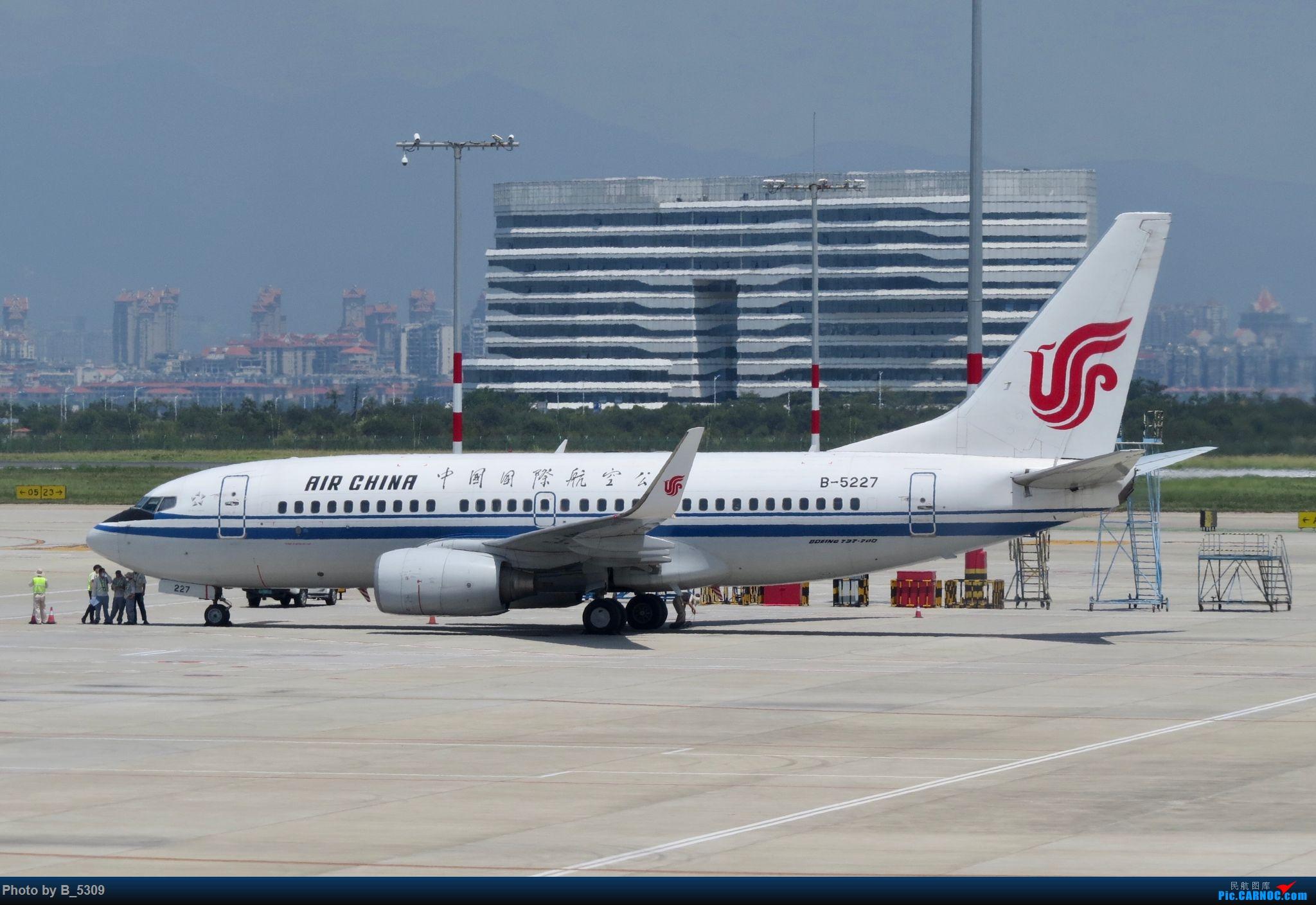 Re:[原创]逮KLM的大中午… BOEING 737-700 B-5227 中国厦门高崎国际机场