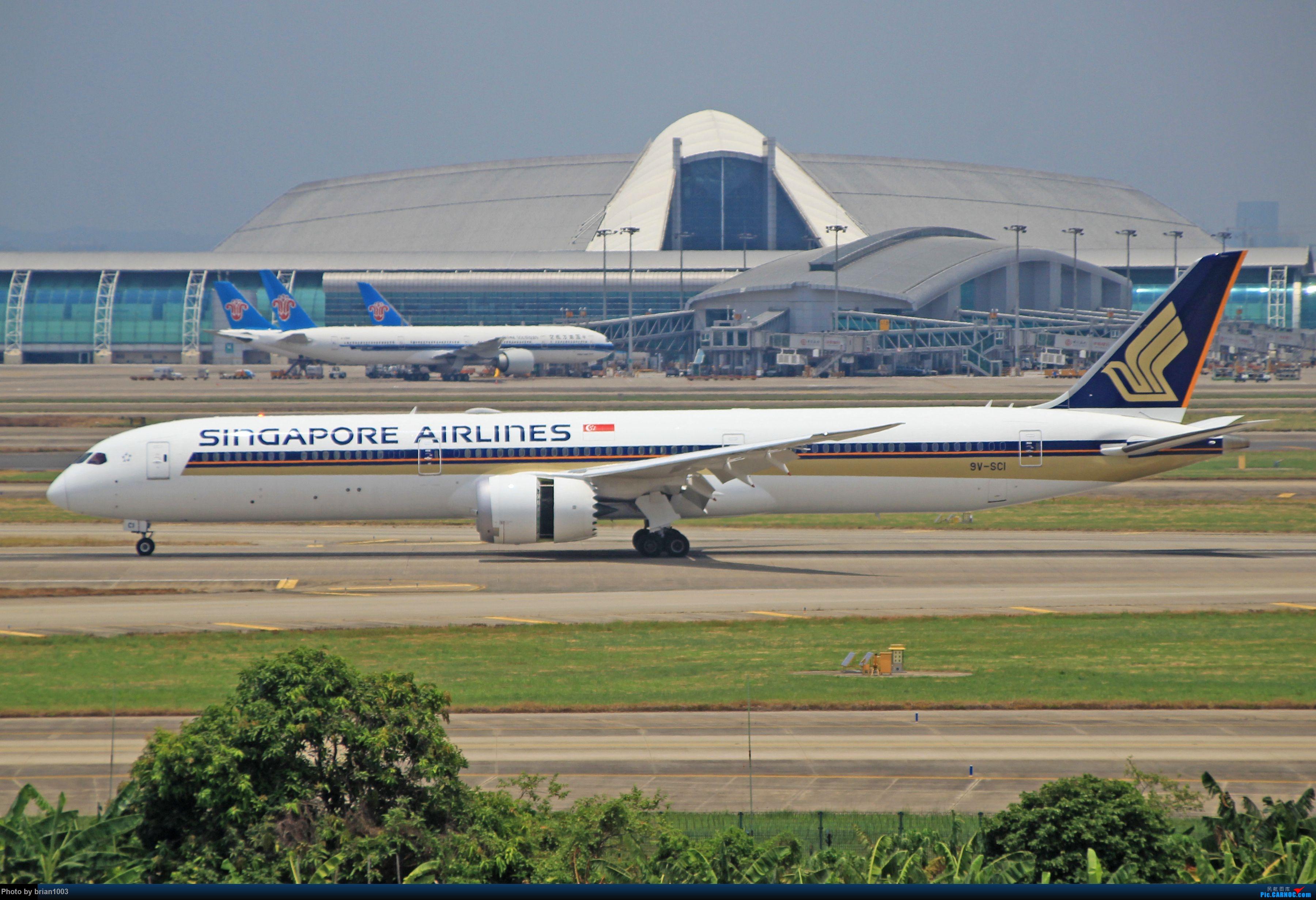 """Re:[原创]千里赴""""粤""""来拍机 BOEING 787 9V-SCI 中国广州白云国际机场"""