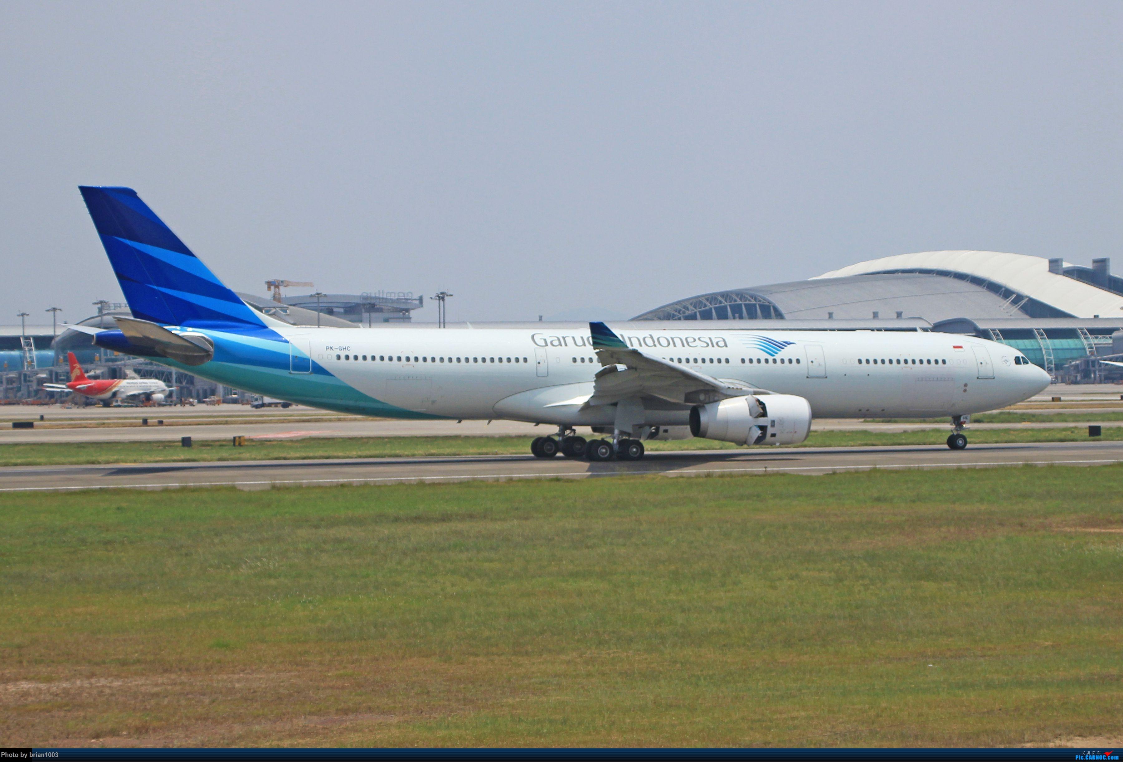 """Re:[原创]千里赴""""粤""""来拍机 AIRBUS A330-300 PK-GHC 中国广州白云国际机场"""