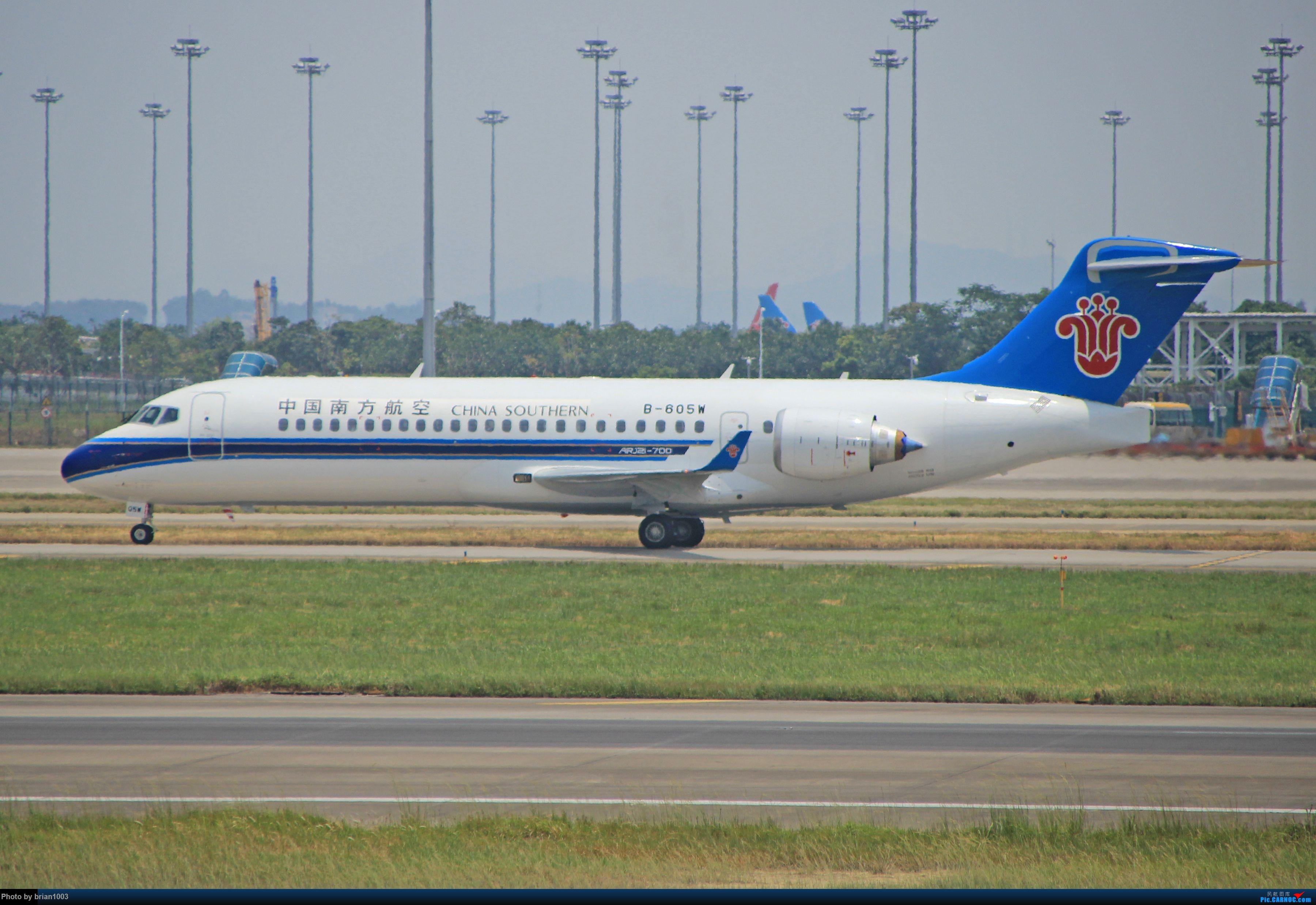 """Re:[原创]千里赴""""粤""""来拍机 COMAC ARJ21-700 B-605W 中国广州白云国际机场"""