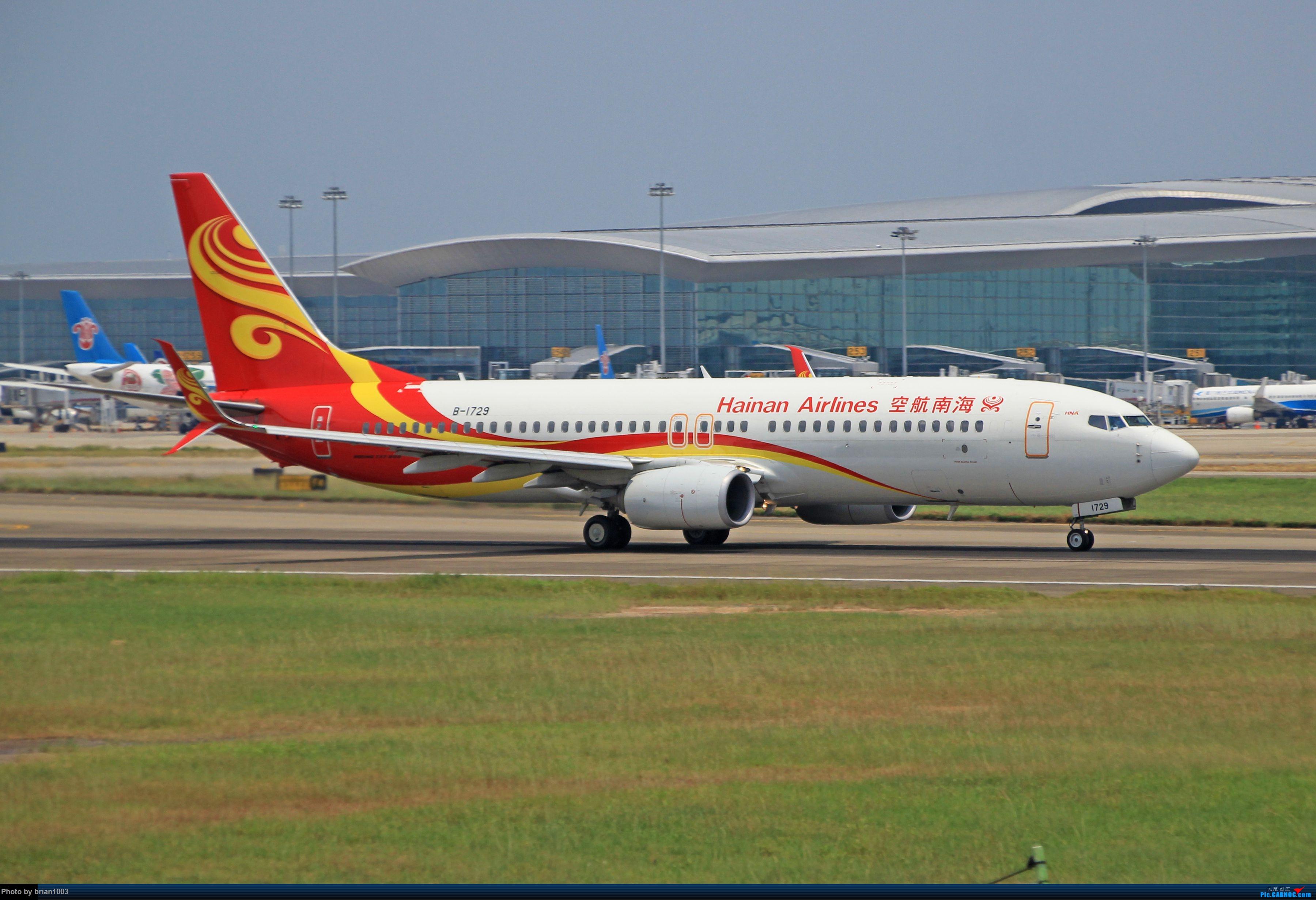 """Re:[原创]千里赴""""粤""""来拍机 BOEING 737-800 B-1729 中国广州白云国际机场"""