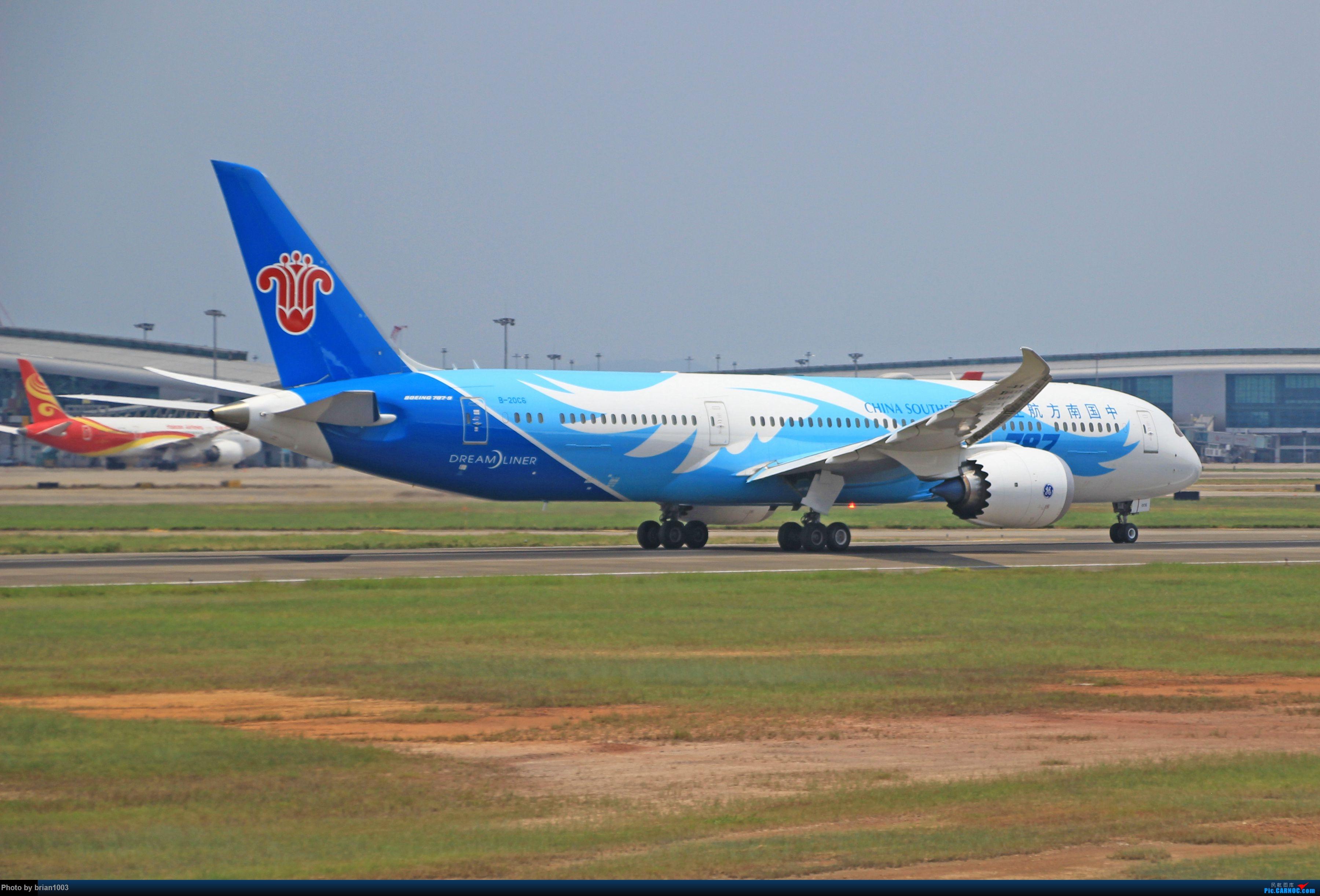 """Re:[原创]千里赴""""粤""""来拍机 BOEING 787-9 B-20C6 中国广州白云国际机场"""