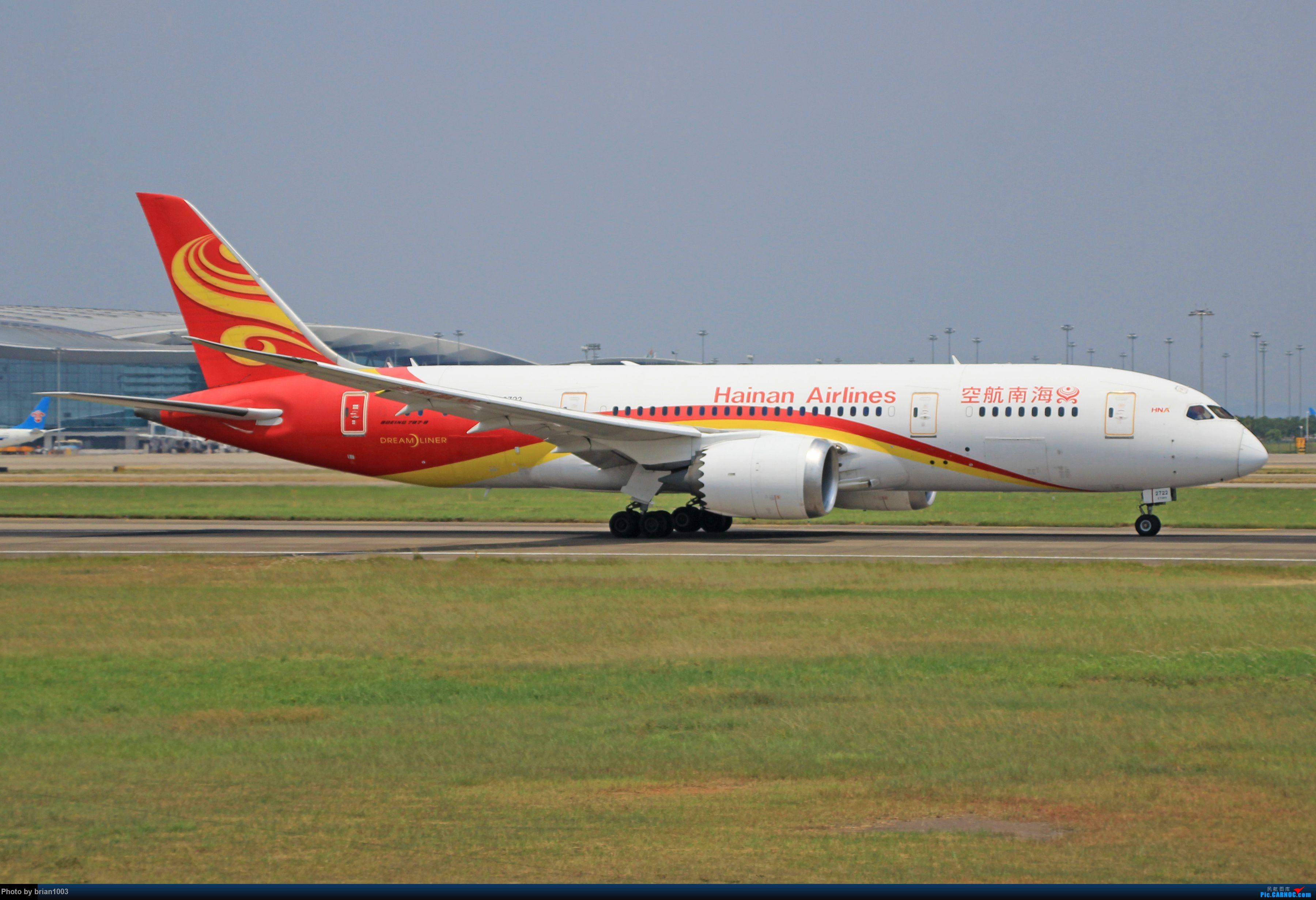 """Re:[原创]千里赴""""粤""""来拍机 BOEING 787-8 B-2722 中国广州白云国际机场"""