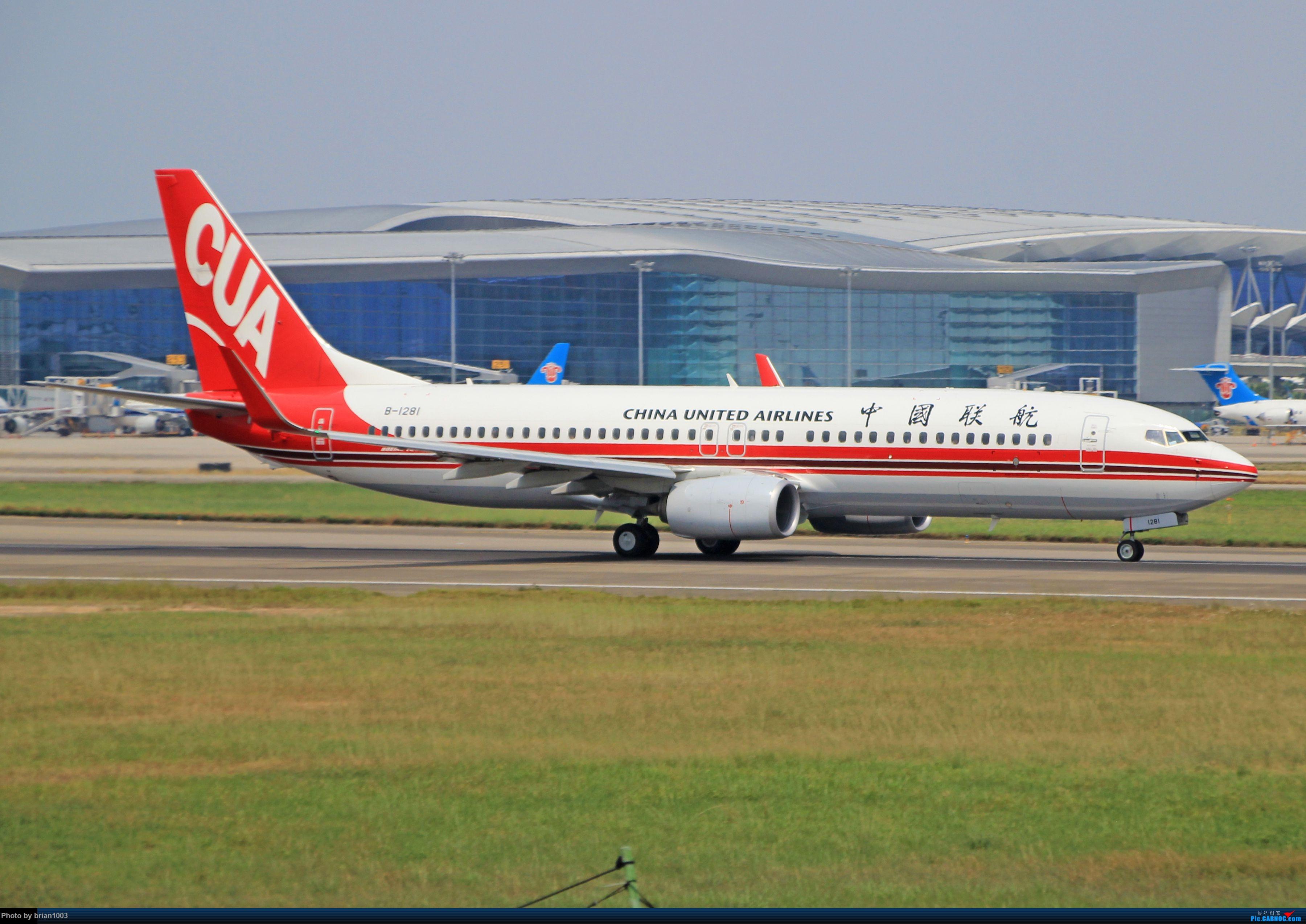 """Re:[原创]千里赴""""粤""""来拍机 BOEING 737-800 B-1281 中国广州白云国际机场"""