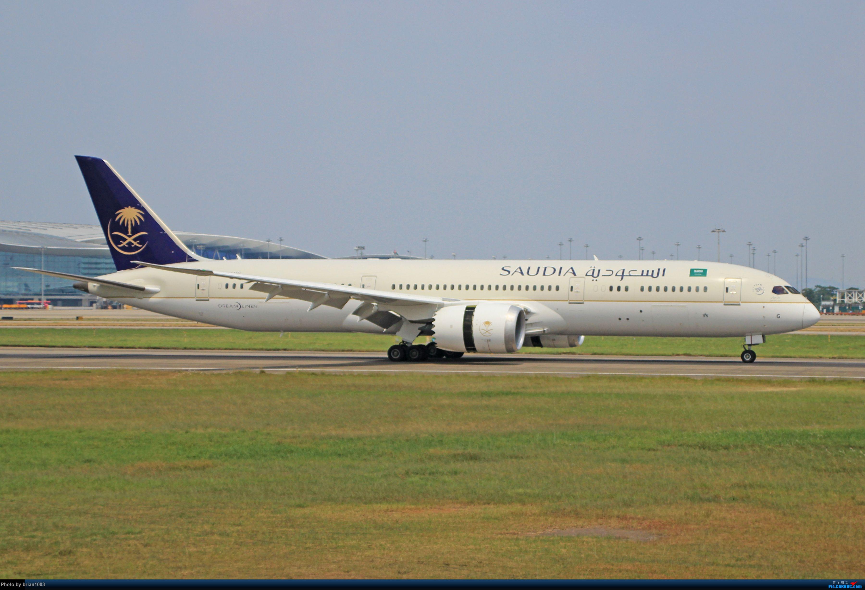 "Re:[原创]千里赴""粤""来拍机 BOEING 787-9 HZ-ARG 中国广州白云国际机场"