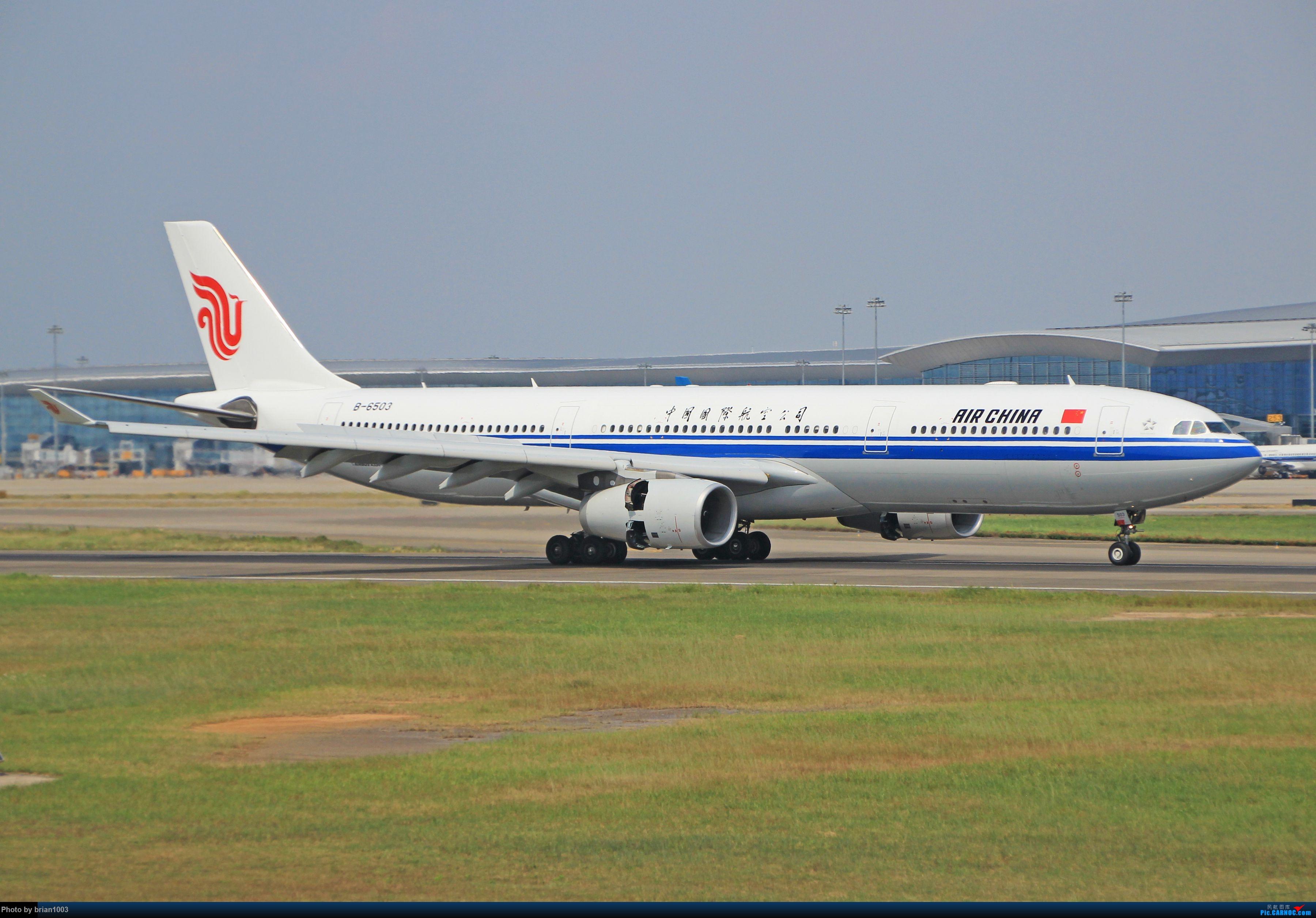 """Re:[原创]千里赴""""粤""""来拍机 AIRBUS A330-300 B-6503 中国广州白云国际机场"""