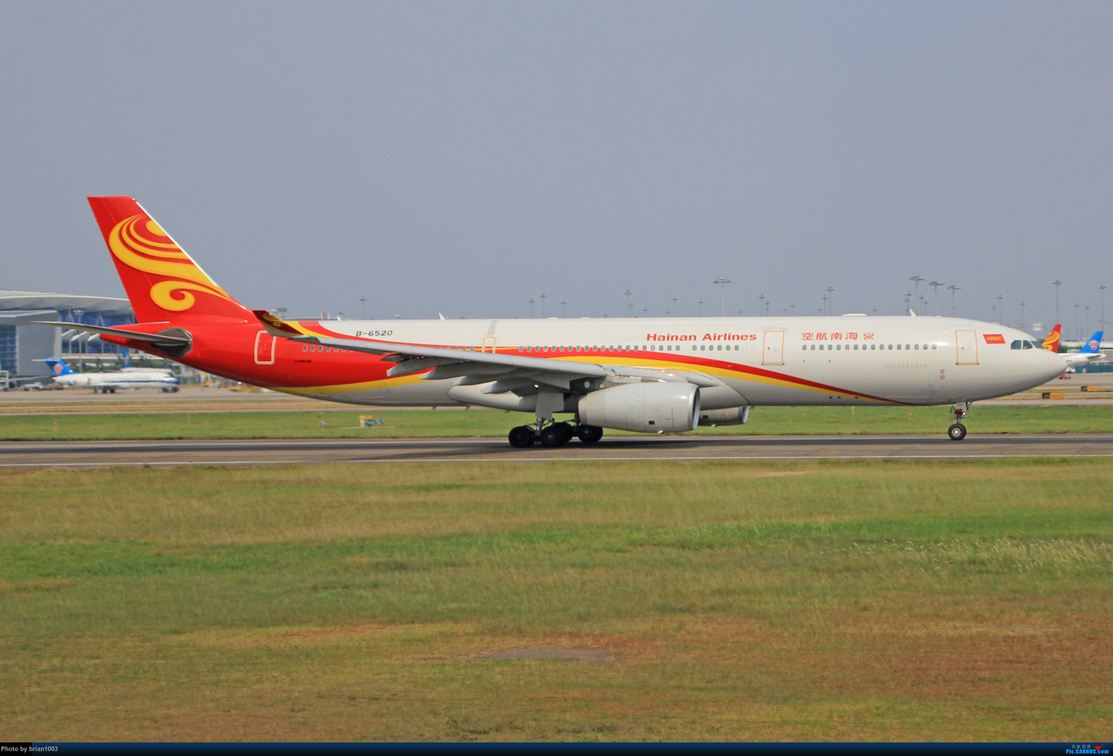 """Re:[原创]千里赴""""粤""""来拍机 AIRBUS A330-300 B-6520 中国广州白云国际机场"""