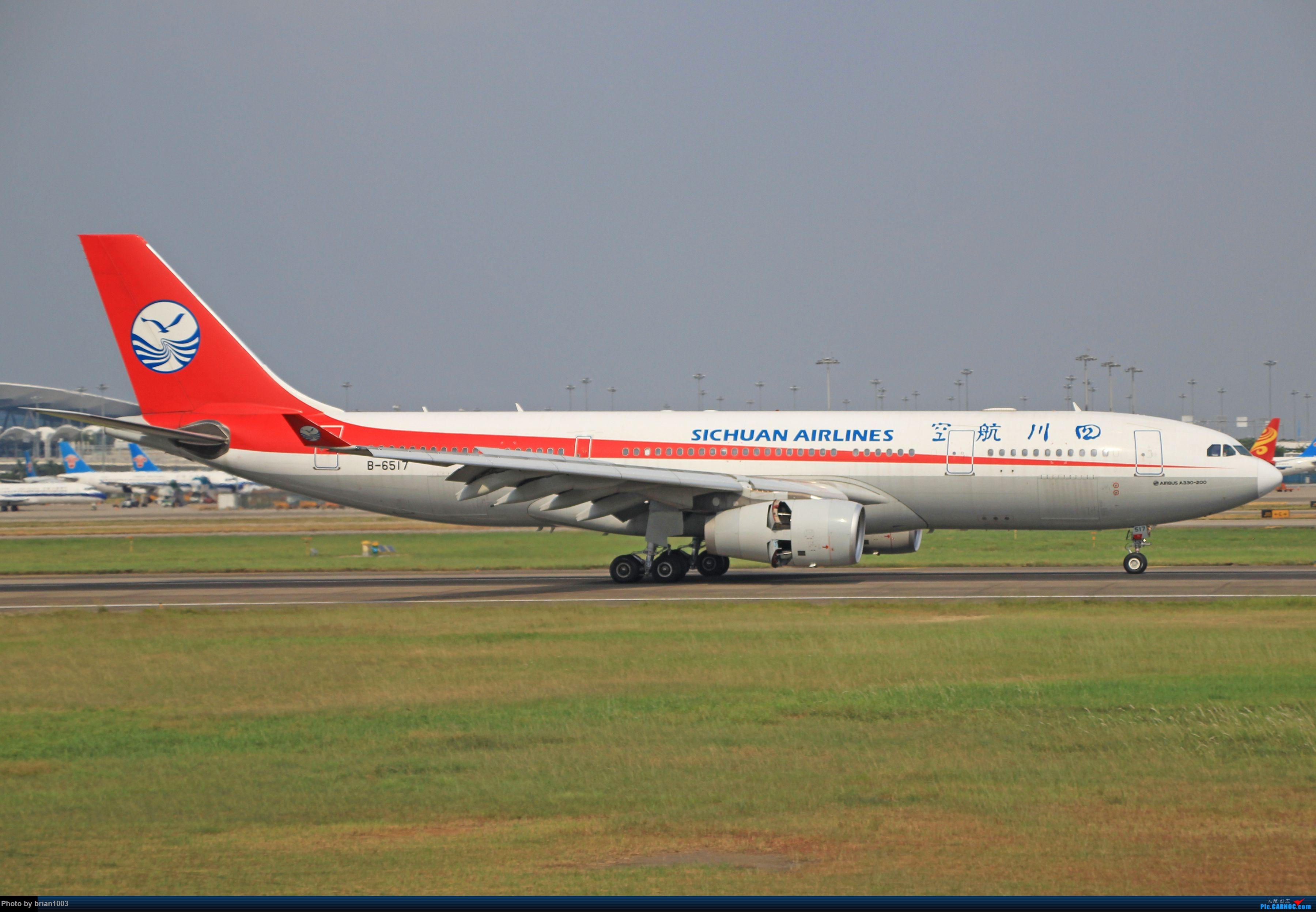 """Re:[原创]千里赴""""粤""""来拍机 AIRBUS A330-200 B-6517 中国广州白云国际机场"""