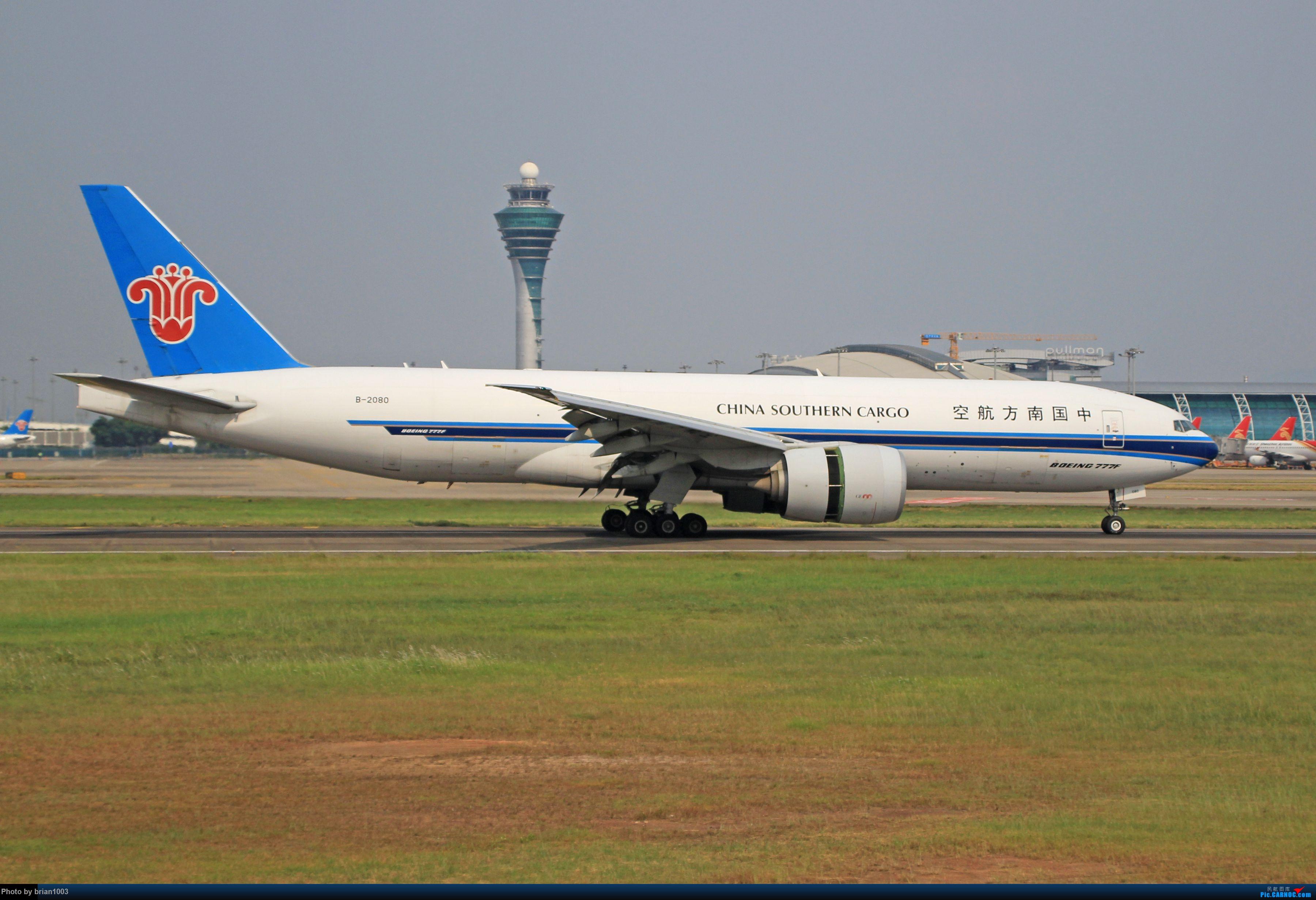 """Re:[原创]千里赴""""粤""""来拍机 BOEING 777F B-2080 中国广州白云国际机场"""