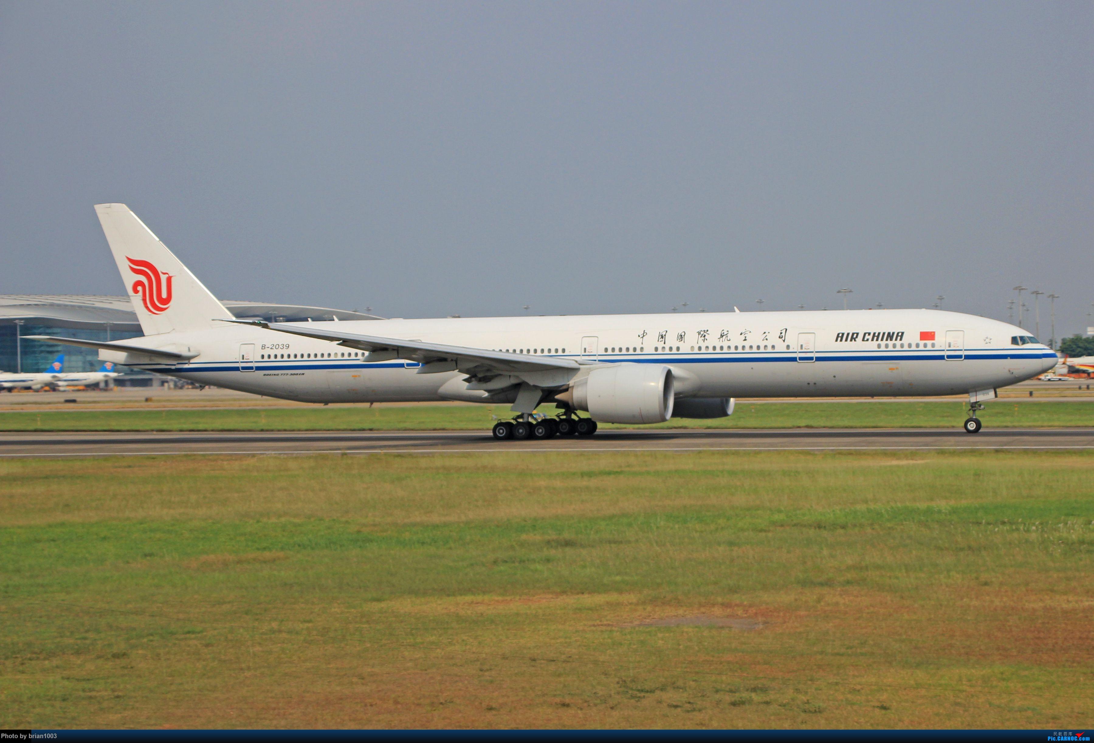 """Re:千里赴""""粤""""来拍机 BOEING 777-300ER B-2039 中国广州白云国际机场"""