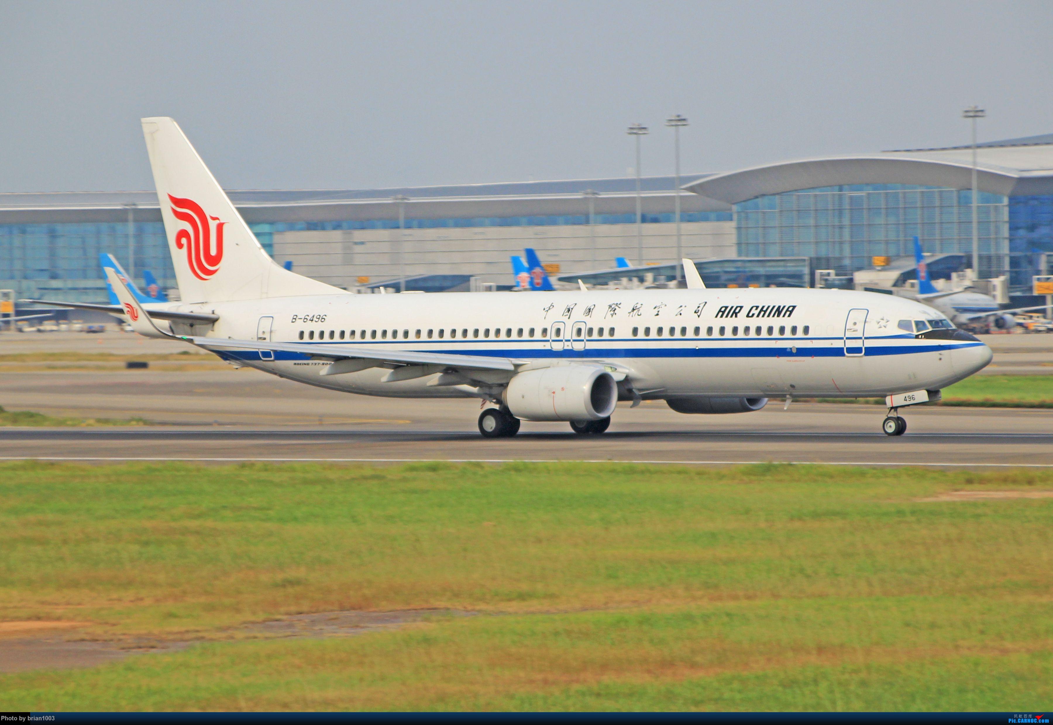 """Re:千里赴""""粤""""来拍机 BOEING 737-800 B-6496 中国广州白云国际机场"""