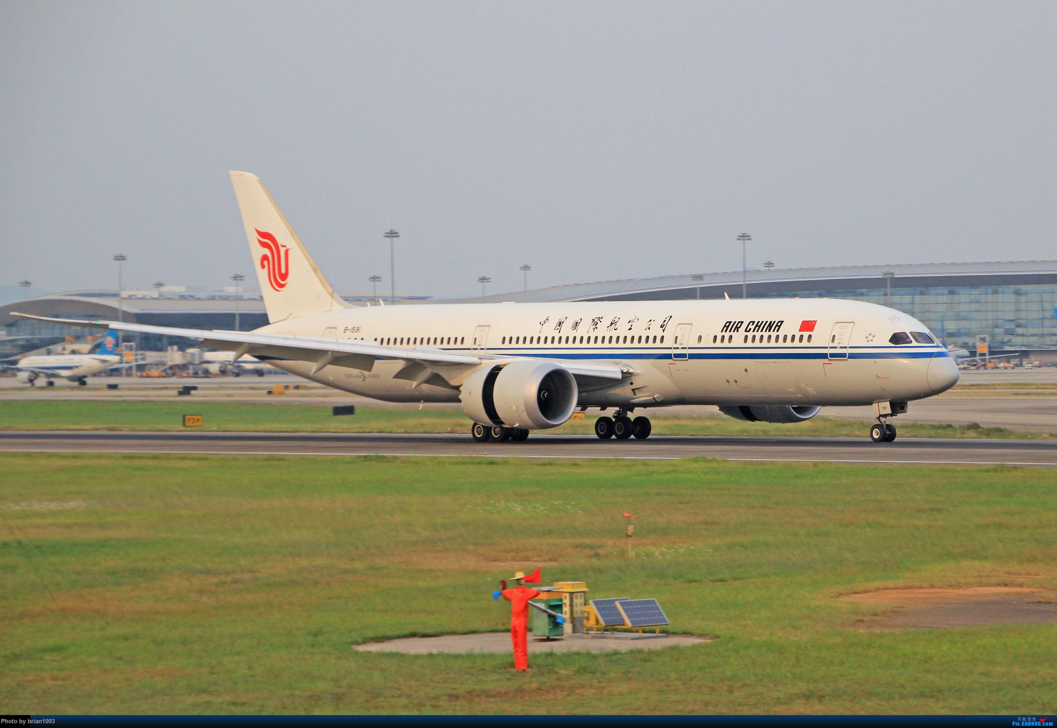 """Re:[原创]千里赴""""粤""""来拍机 BOEING 787-9 B-1591 中国广州白云国际机场"""