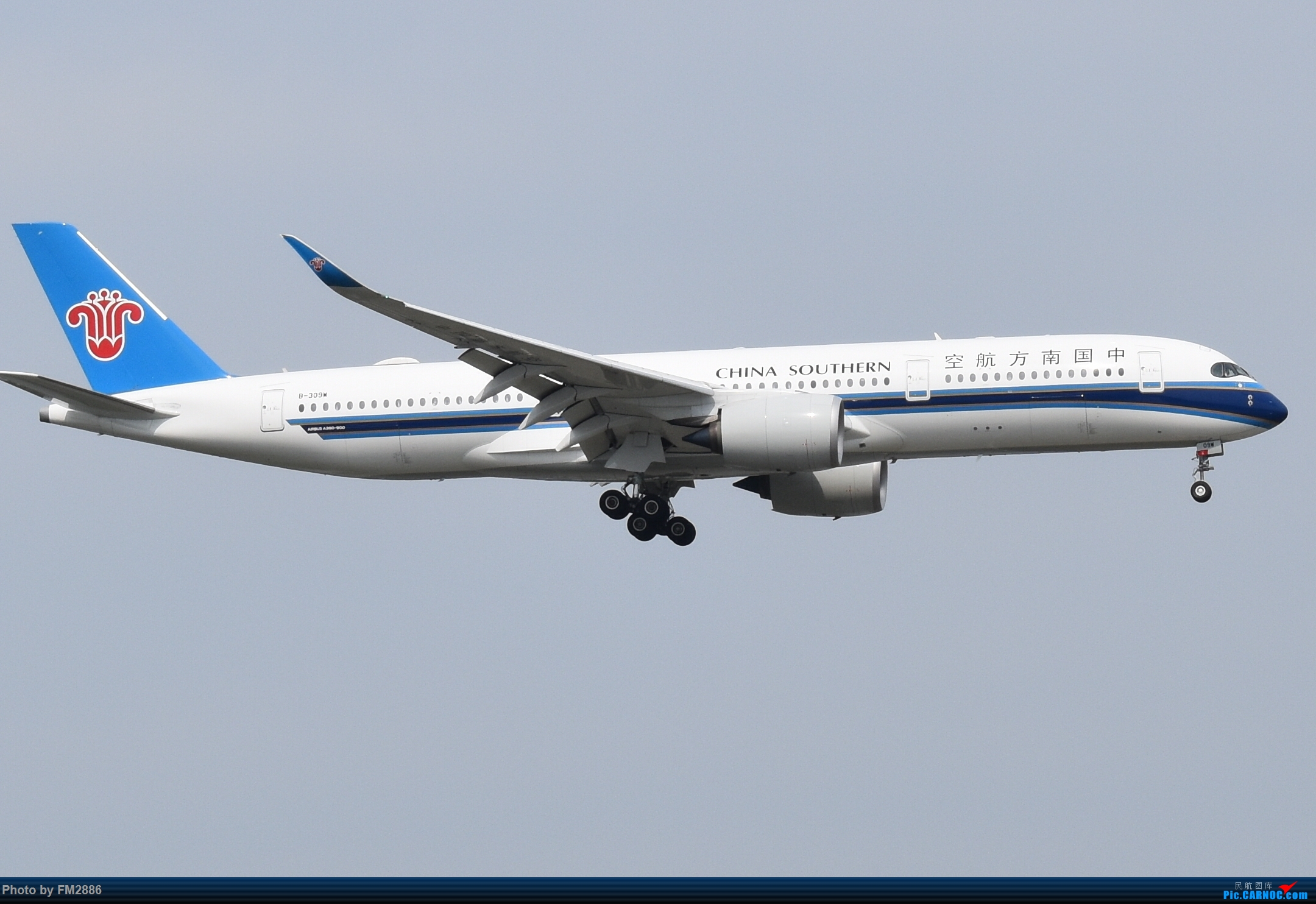 [原创]南方航空350 AIRBUS A350-900 B-309W 中国上海虹桥国际机场