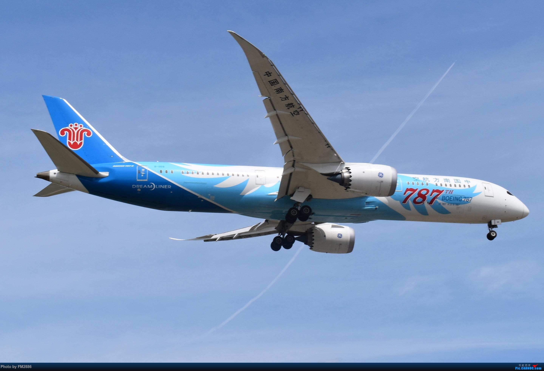 南方航空787 BOEING 787-9 B-1168 上海虹桥国际机场