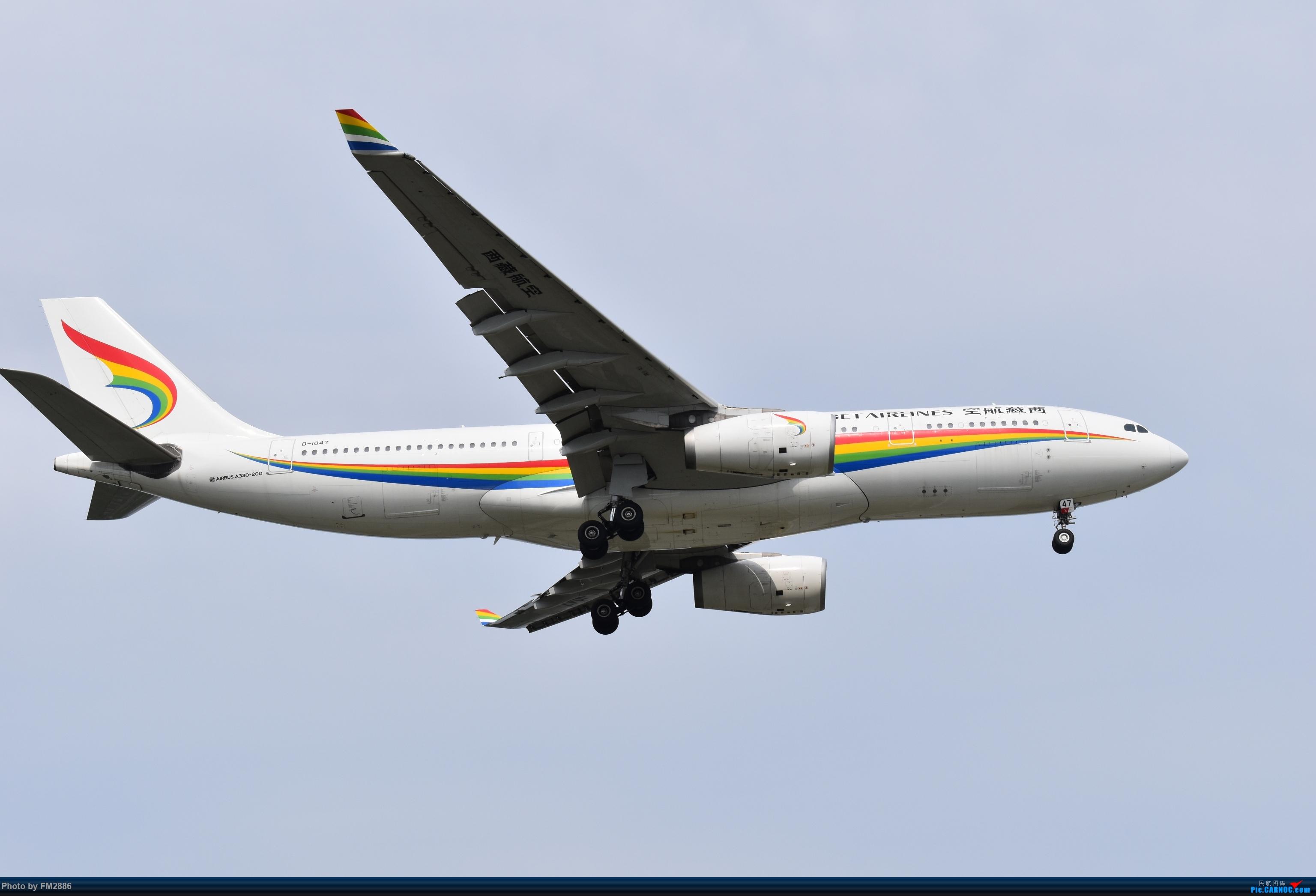 [原创]西藏航空A330 AIRBUS A330-200 B-1047 上海虹桥国际机场
