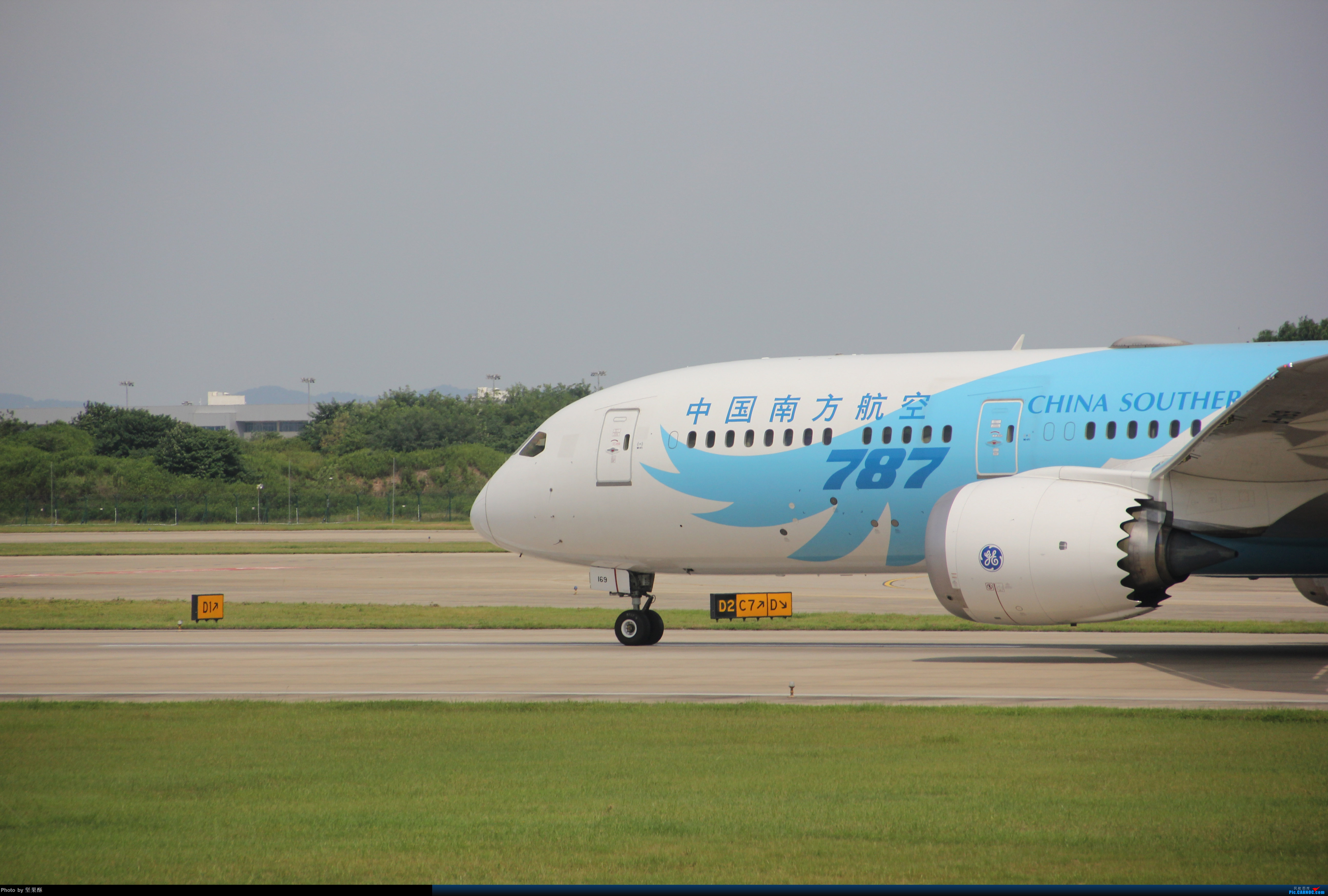 [原创]南航梦想之翼落地南京 BOEING 787-9 B-1169 南京市禄口国际机场