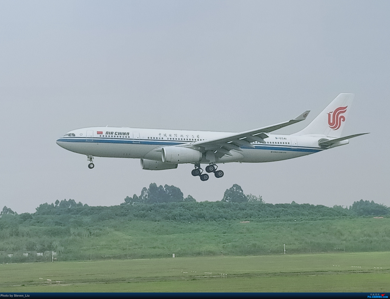 [原创]成都双流国际机场拍机! AIRBUS A330-200 B-6541 成都空港花田