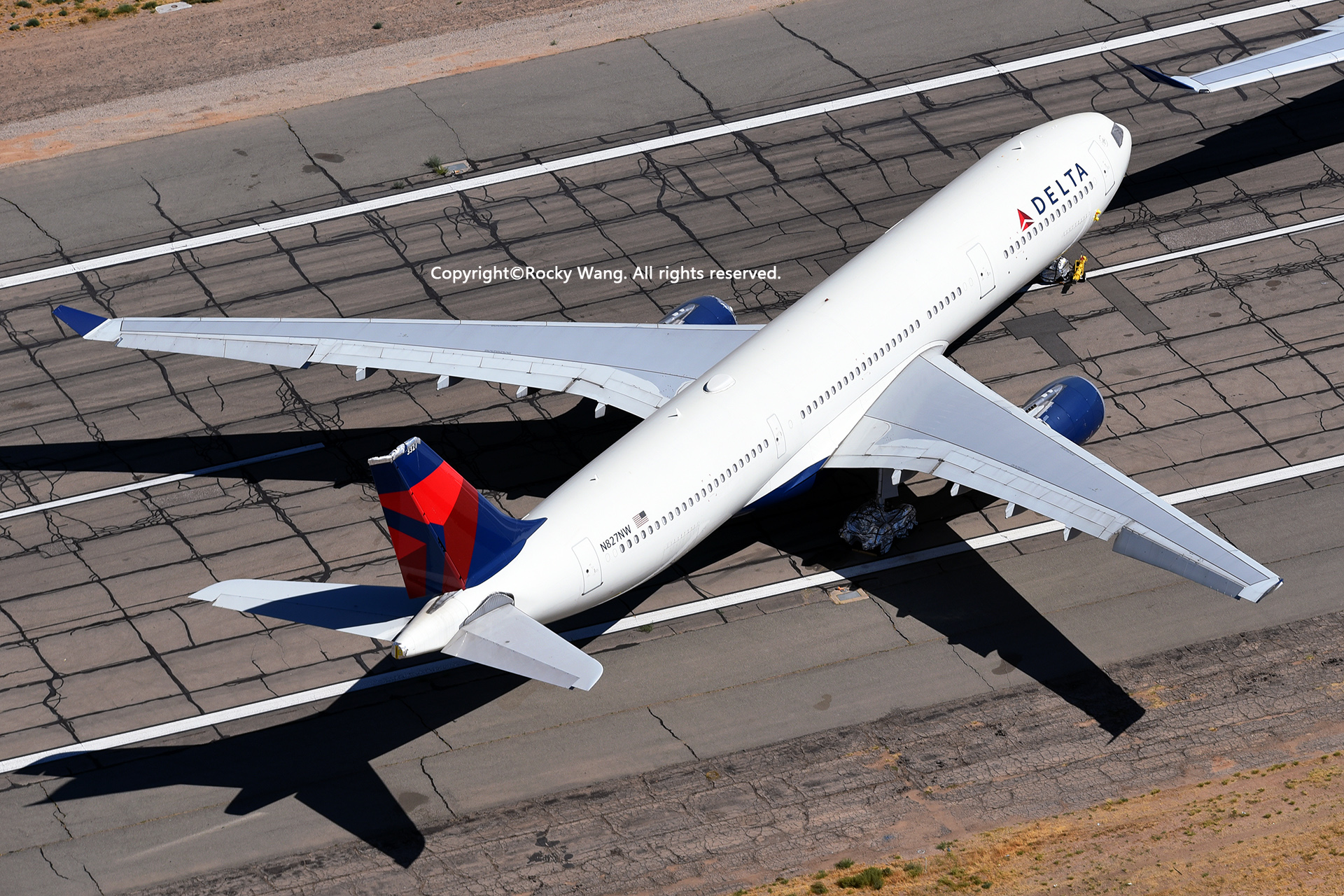 Re:[原创]沙漠29图+彩蛋 AIRBUS A330-302 N827NW Victorville-Southern California Logistic