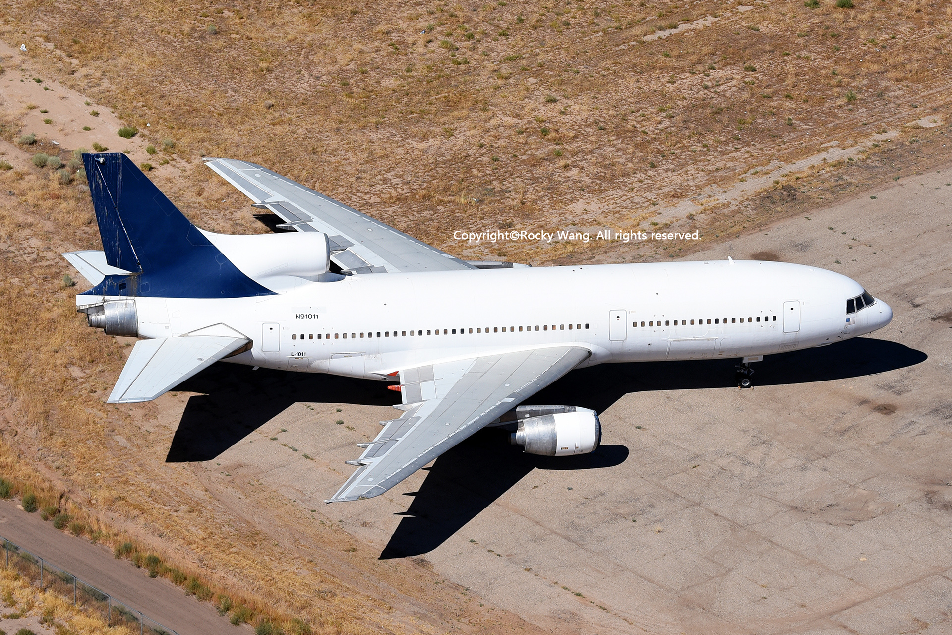 Re:[原创]沙漠29图+彩蛋 LOCKHEED L-1011-500 TRISTAR N91011 Victorville-Southern California Logistic