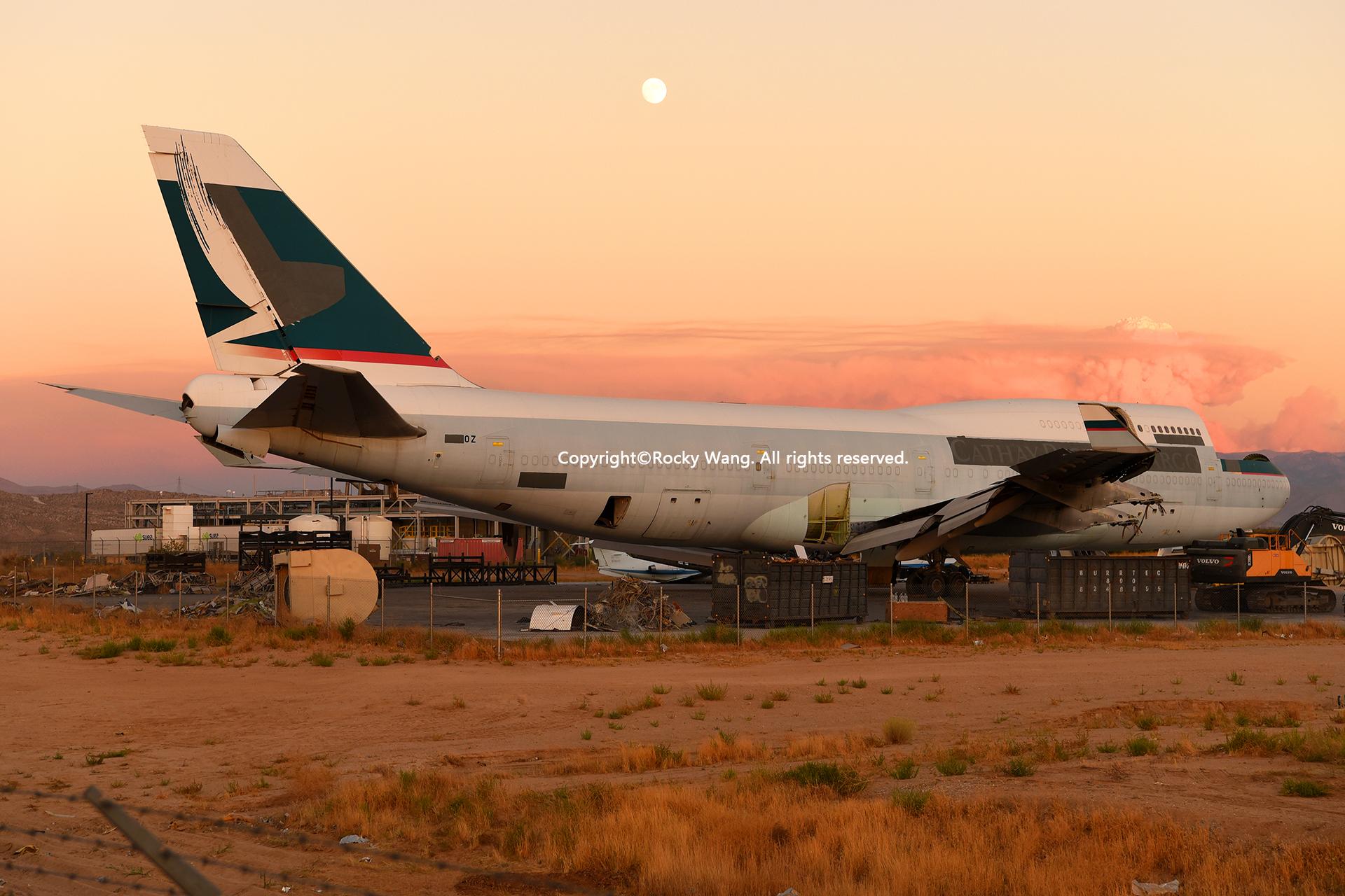 Re:[原创]沙漠29图+彩蛋 BOEING 747-467(BCF) B-HOZ Victorville-Southern California Logistic