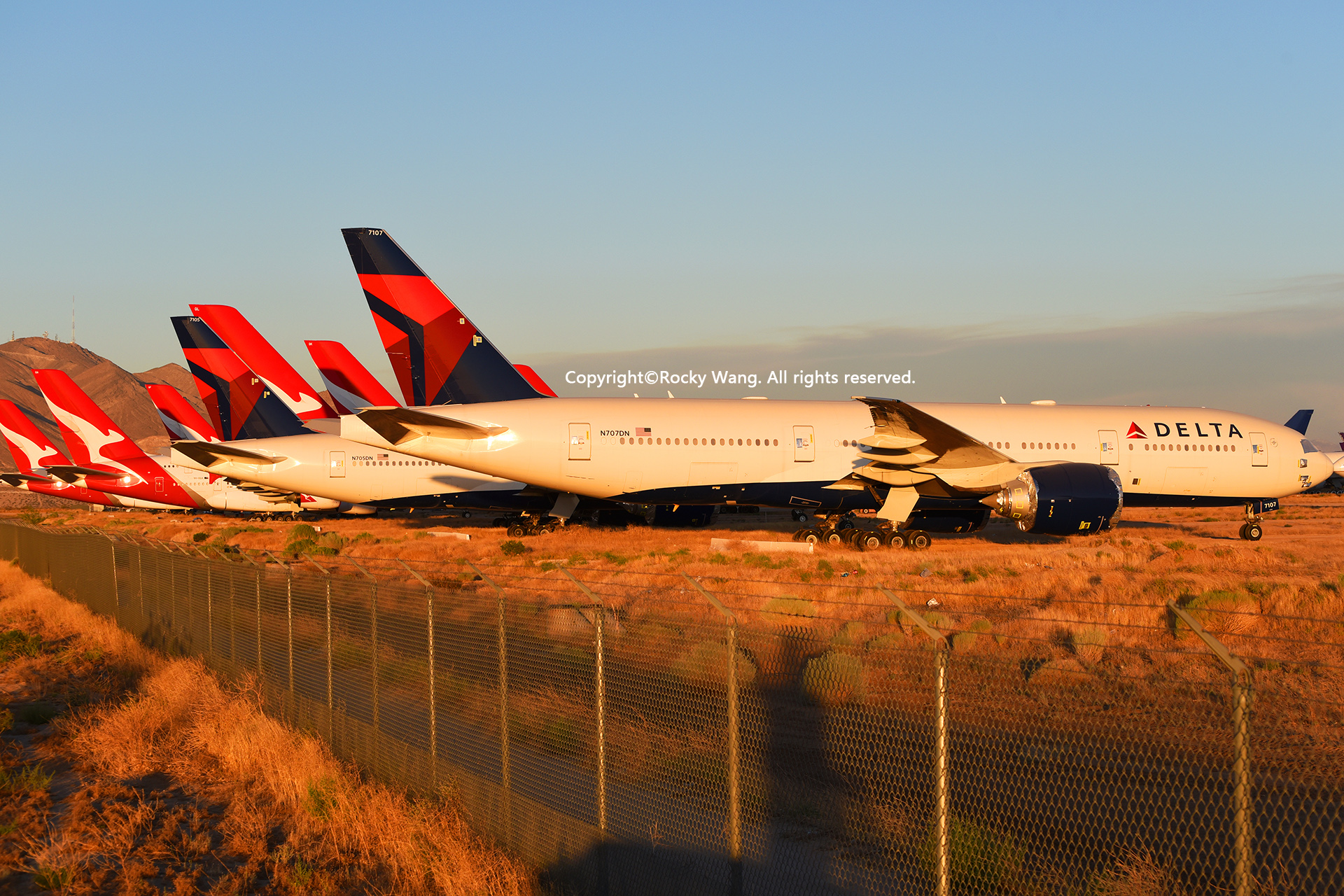 Re:[原创]沙漠29图+彩蛋 BOEING 777-232LR N707DN Victorville-Southern California Logistic