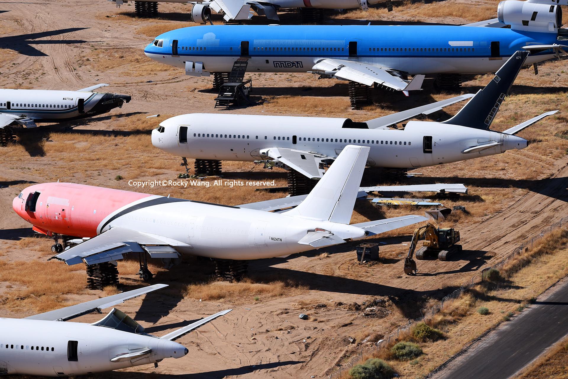 Re:[原创]沙漠29图+彩蛋 AIRBUS A300B4-103(F) N124TN Mojave Airport