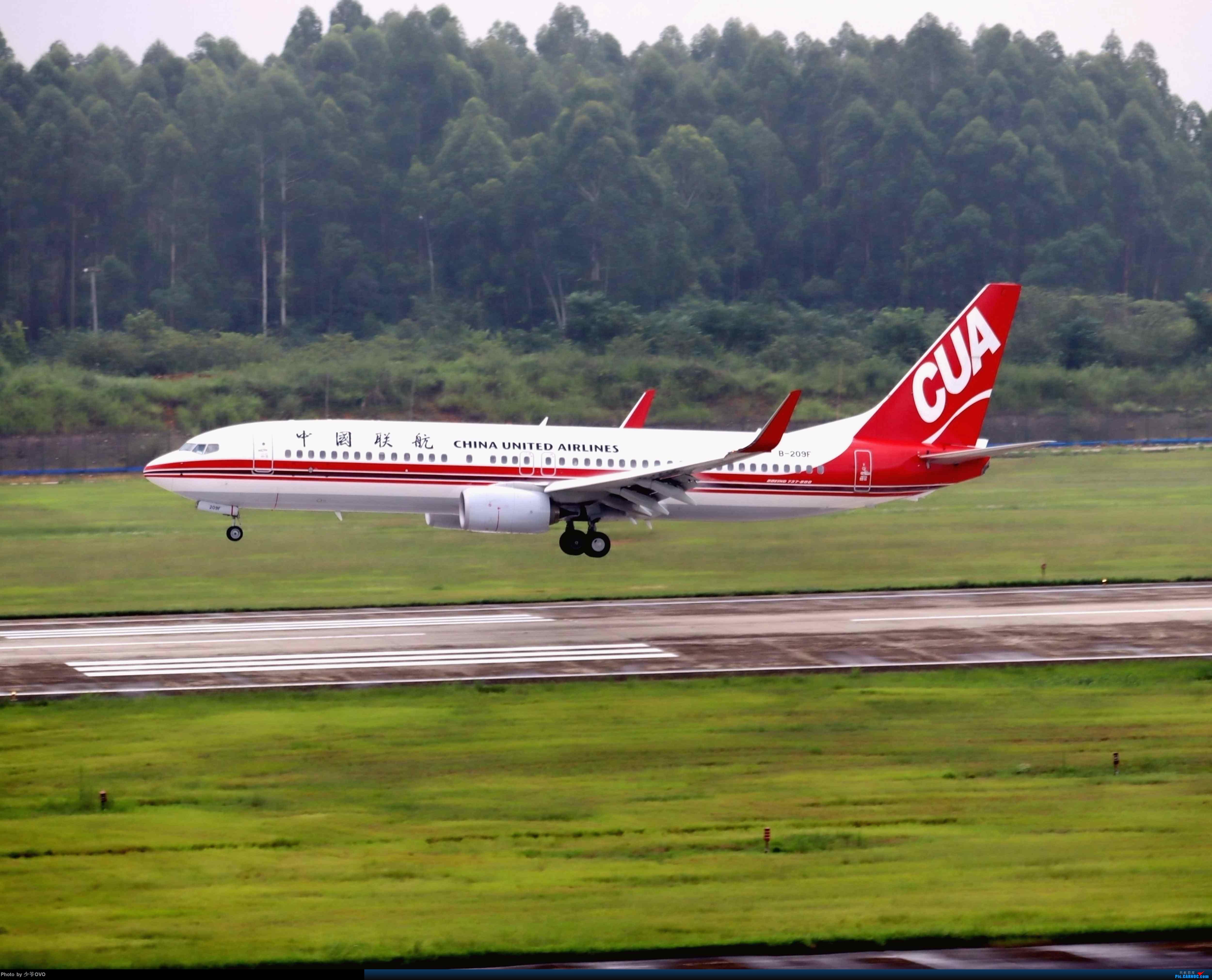 Re:[原创](2020.8.1)少爷的CTU拍机(厦门航空联合国787) BOEING 737-800 B-209F 中国成都双流国际机场