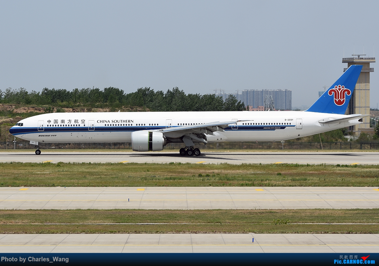Re:[原创]新郑机场近日好货集锦 波音777-31B ER B-209Y 郑州新郑国际机场