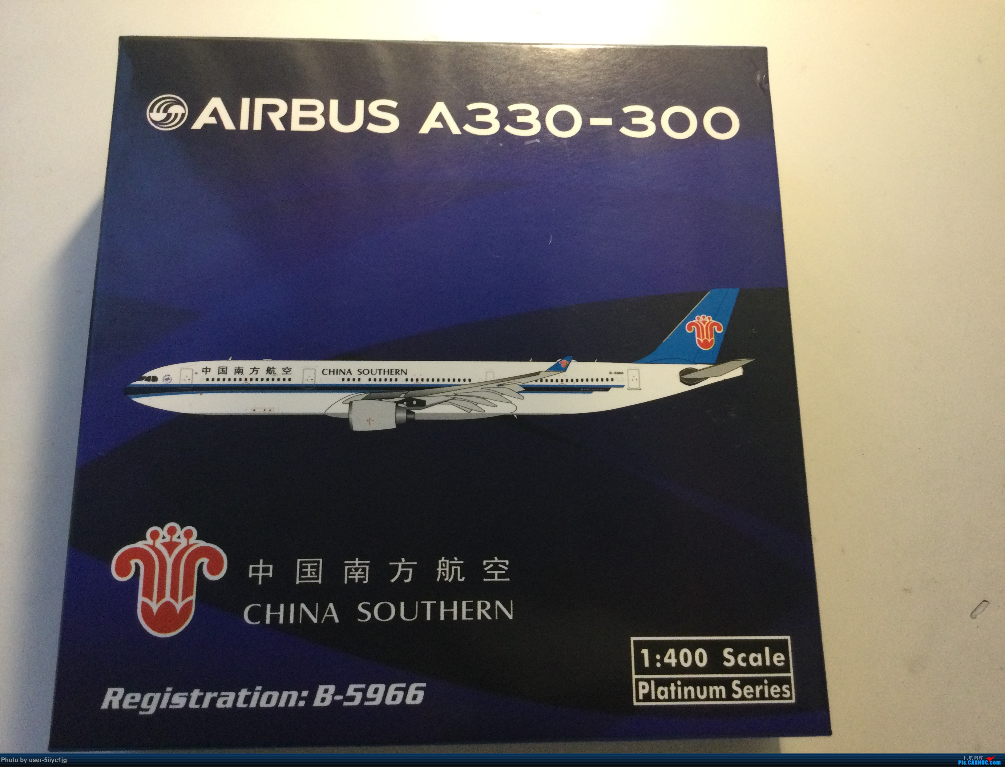 [原创]今日到货的飞机模型Phoenix AIRBUS A330-300 B-5966