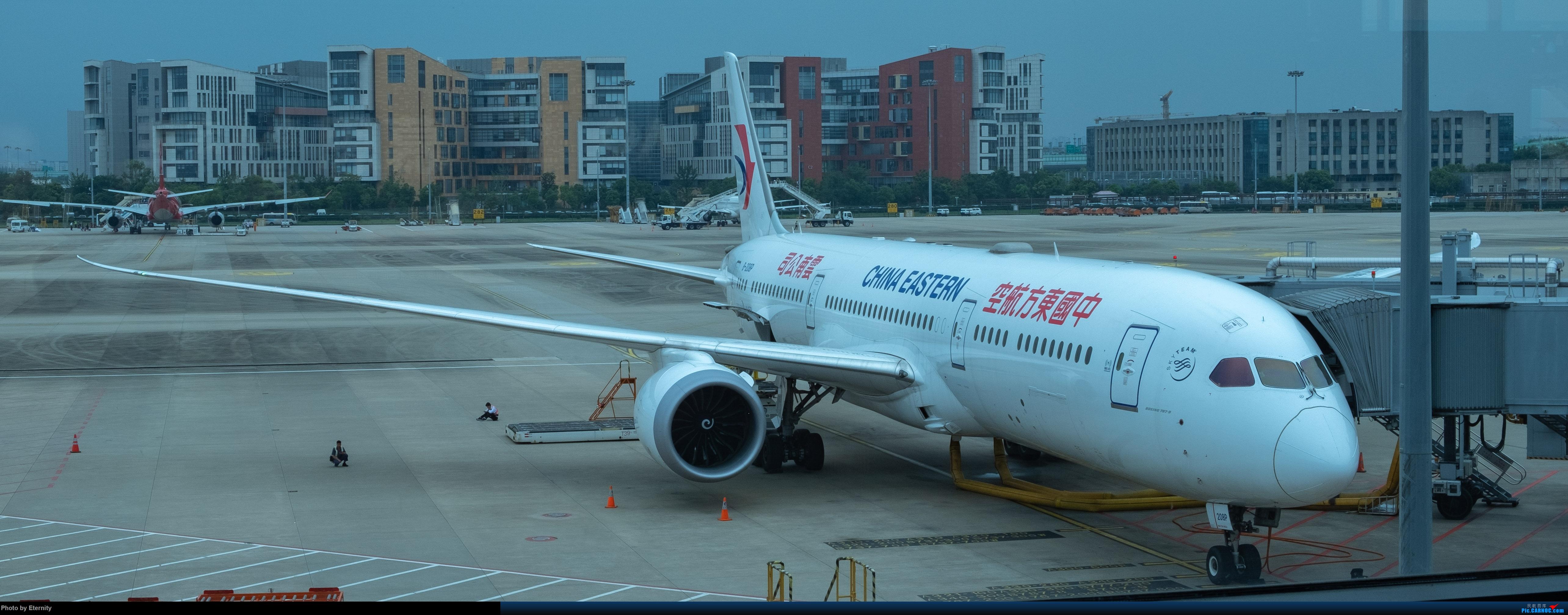 Re:[原创]后疫情期间的暑假国内游 | 西安-上海-广州-成都 | 体验国内3条干线 | 吉祥航空787 | 南航350 | 海航737 BOEING 787-9 B-208P 中国上海虹桥国际机场