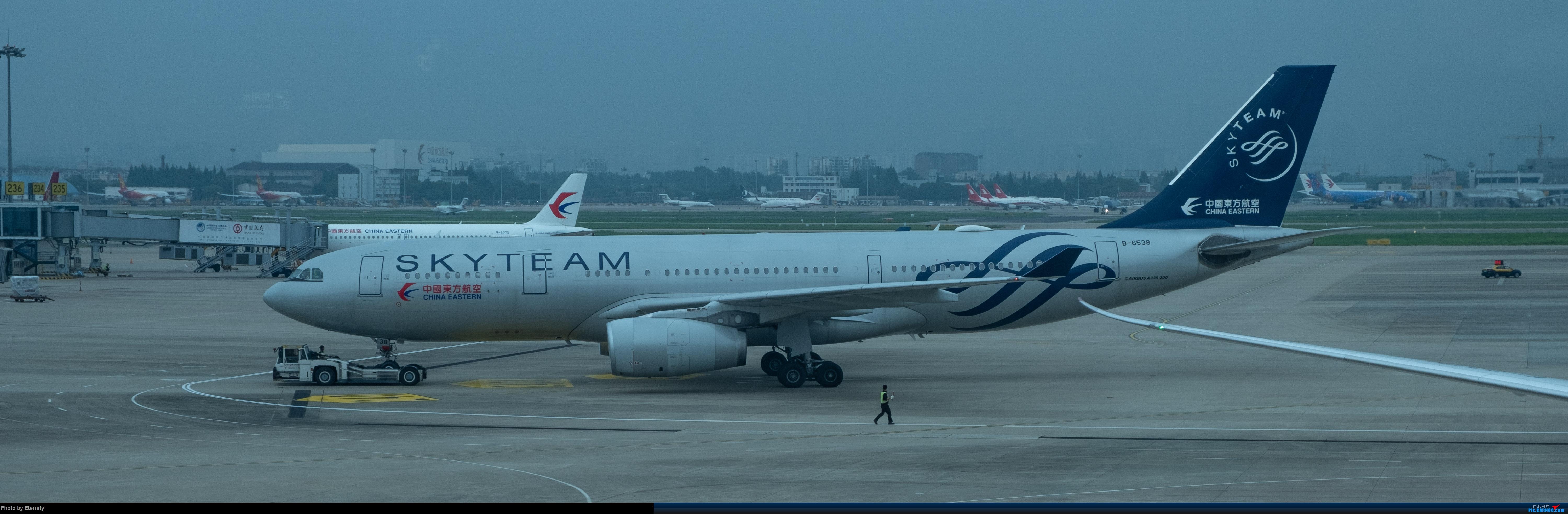 Re:[原创]后疫情期间的暑假国内游 | 西安-上海-广州-成都 | 体验国内3条干线 | 吉祥航空787 | 南航350 | 海航737 AIRBUS A330-200 B-6538 中国上海虹桥国际机场
