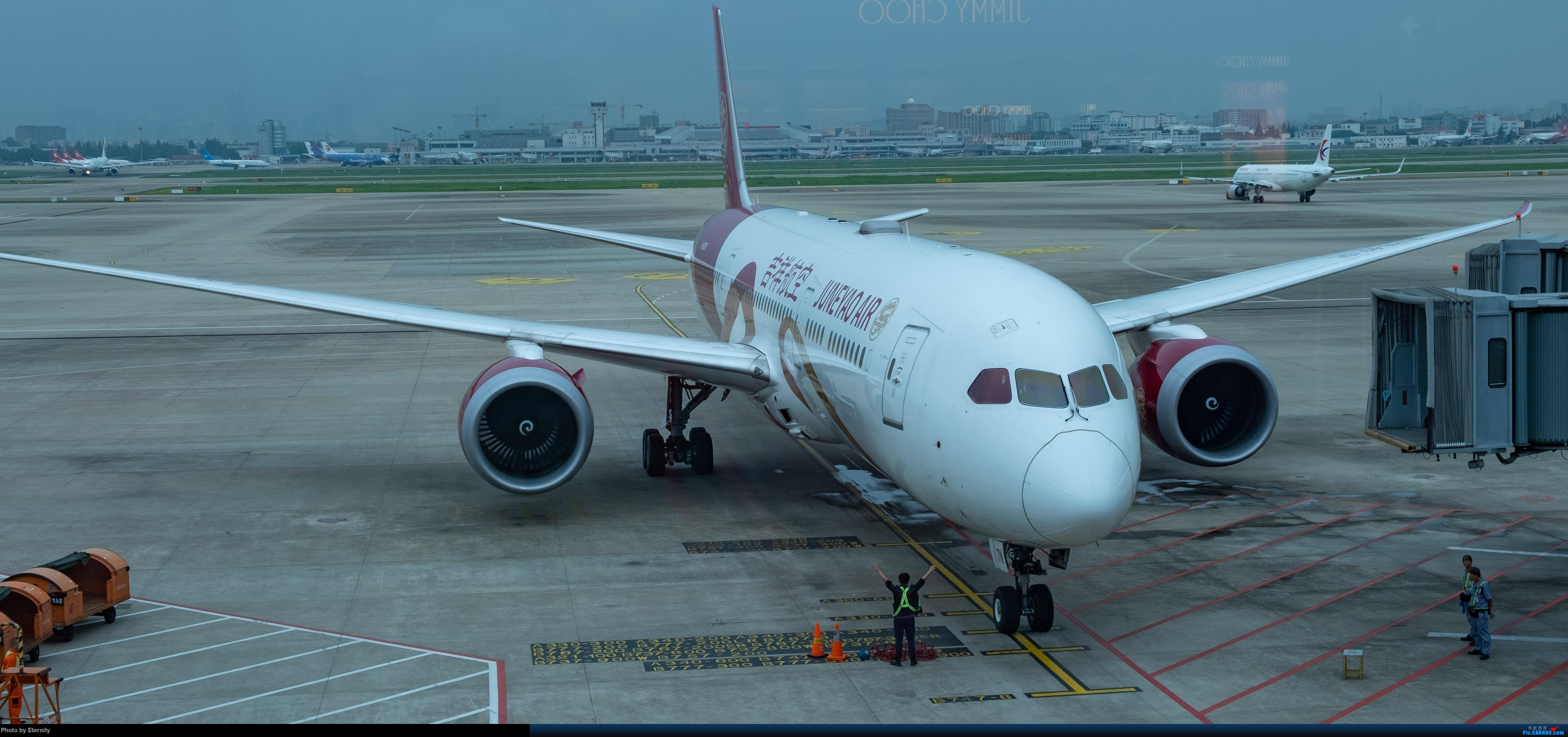 Re:[原创]后疫情期间的暑假国内游 | 西安-上海-广州-成都 | 体验国内3条干线 | 吉祥航空787 | 南航350 | 海航737 BOEING 787-9 B-207N 中国上海虹桥国际机场