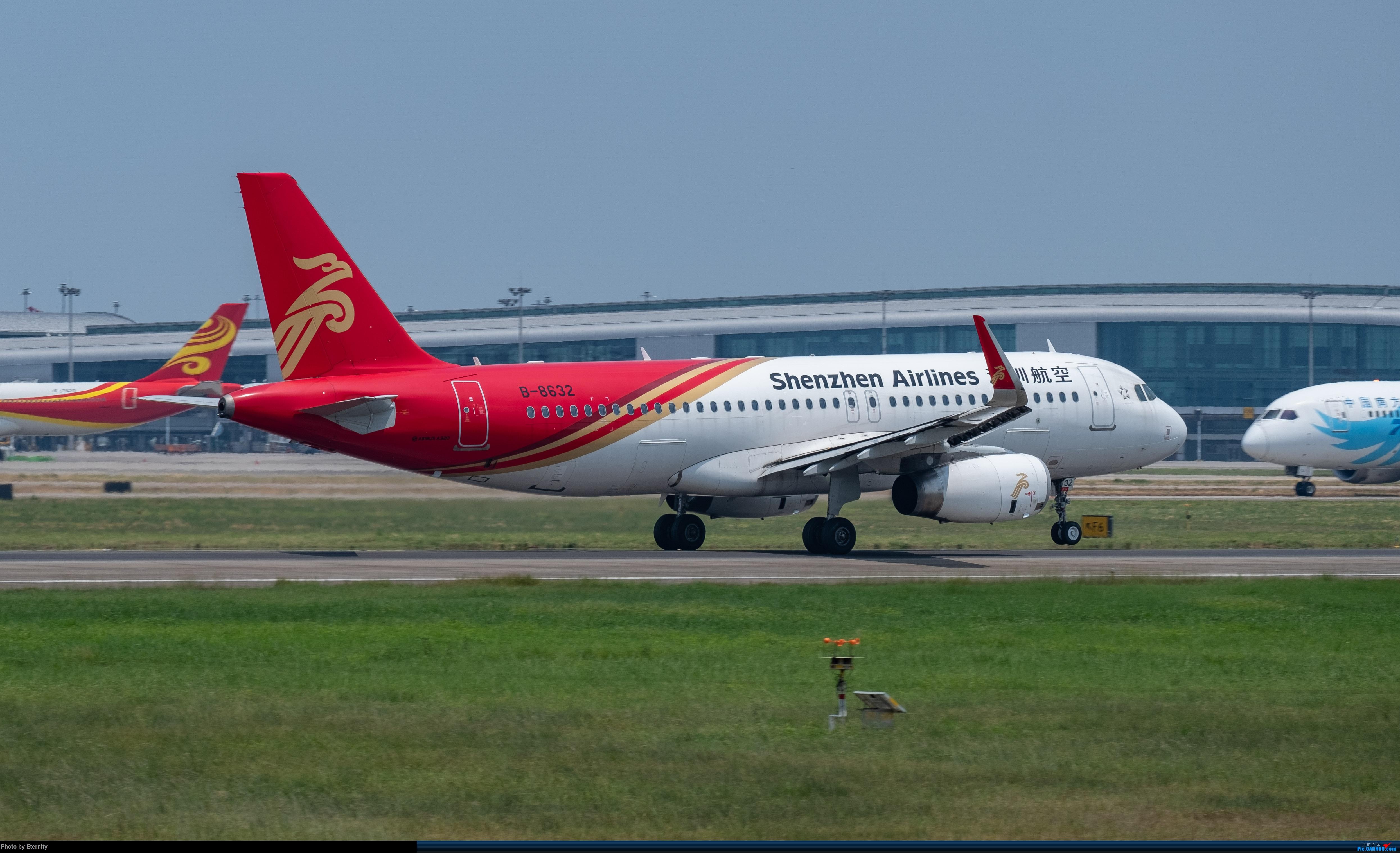 Re:[原创]后疫情期间的暑假国内游 | 西安-上海-广州-成都 | 体验国内3条干线 | 吉祥航空787 | 南航350 | 海航737 AIRBUS A320-200 B-8632 中国广州白云国际机场