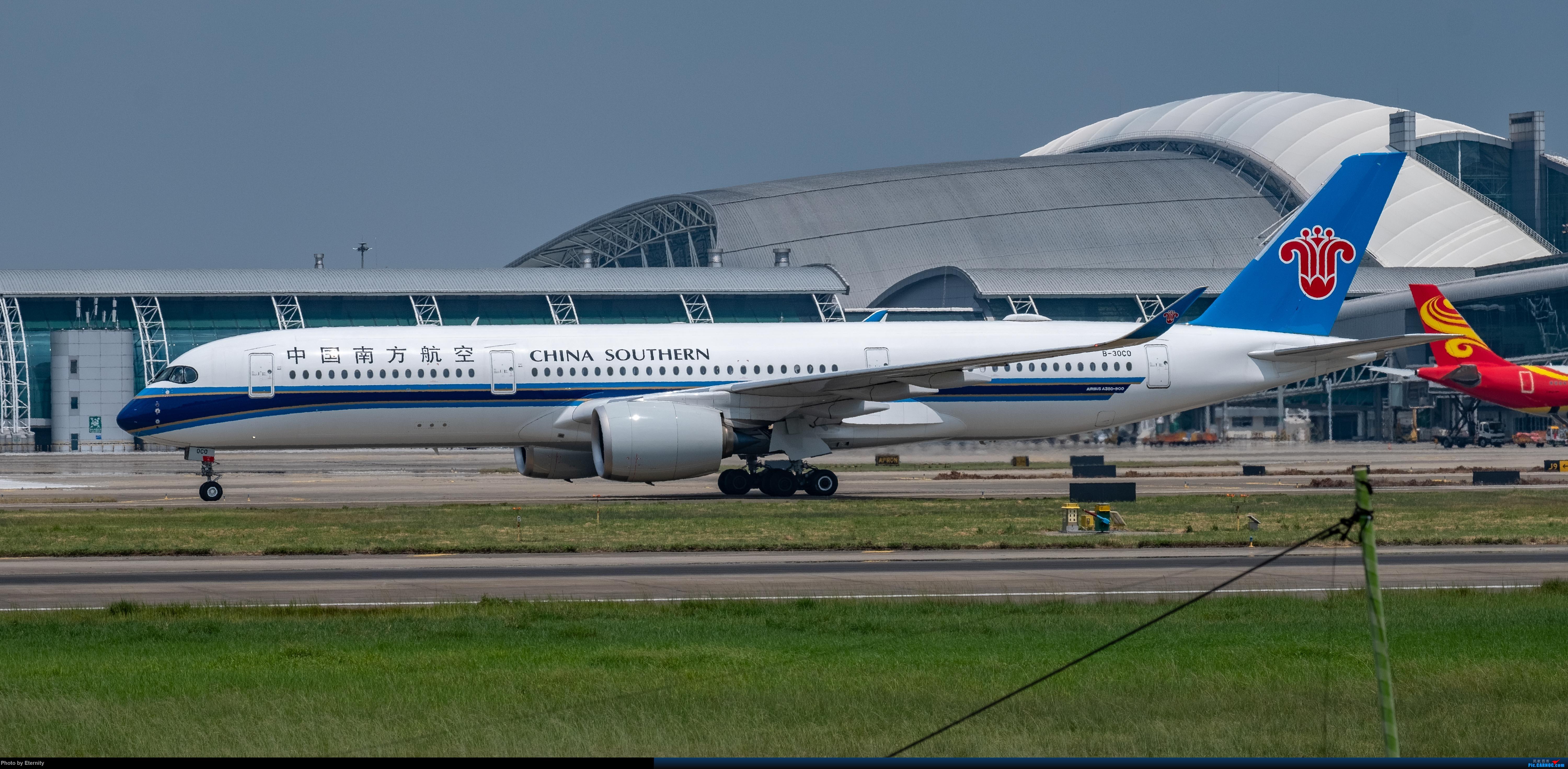 Re:[原创]后疫情期间的暑假国内游 | 西安-上海-广州-成都 | 体验国内3条干线 | 吉祥航空787 | 南航350 | 海航737 AURBUS A350-900 B-30C0 中国广州白云国际机场