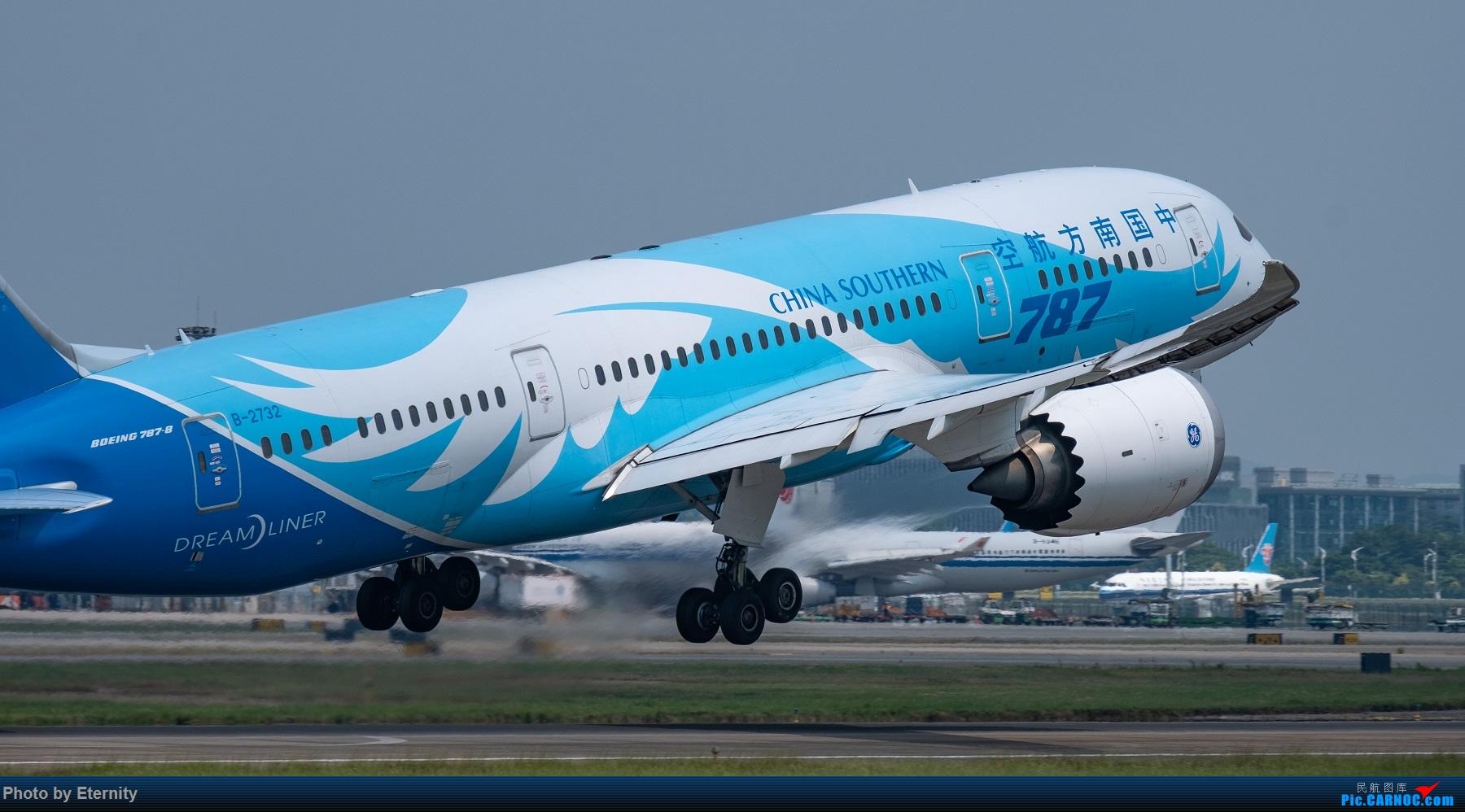 Re:[原创]后疫情期间的暑假国内游 | 西安-上海-广州-成都 | 体验国内3条干线 | 吉祥航空787 | 南航350 | 海航737 BOEING 787-8 B-2732 中国广州白云国际机场
