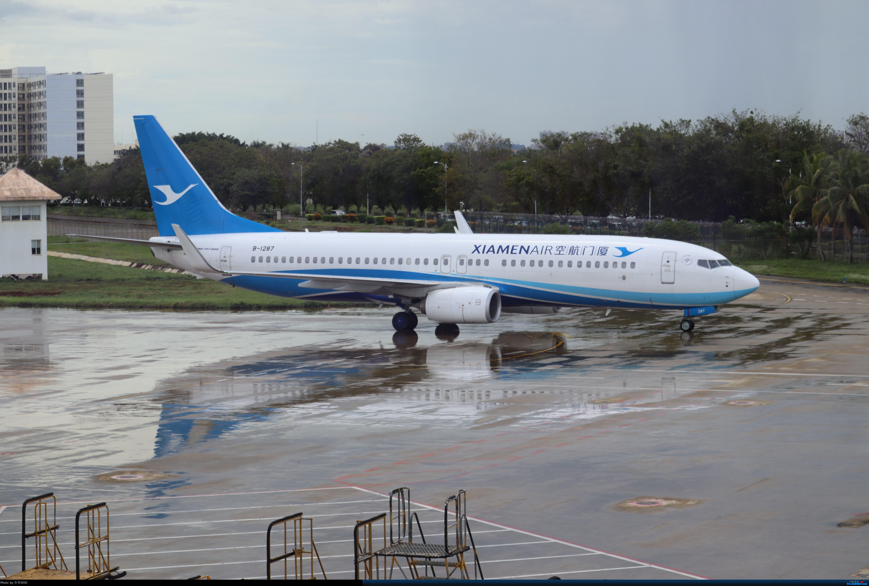 [原创]少爷的HAK往返随拍 BOEING 737-800 B-1287 中国海口美兰国际机场