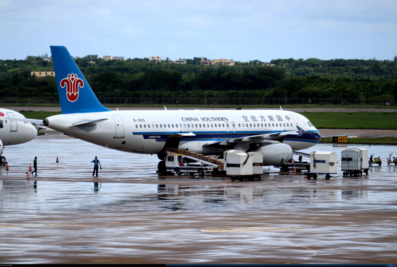 Re:[原创]少爷的HAK往返随拍 AIRBUS A320-200 B-1805 中国海口美兰国际机场