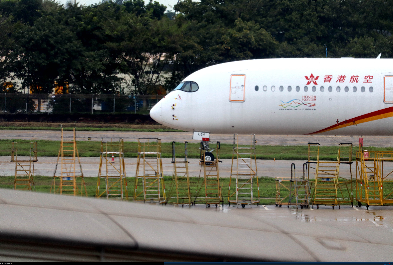 Re:[原创]少爷的HAK往返随拍 AIRBUS A350-900 B-LGH 中国海口美兰国际机场